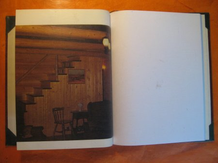 Image for Blank Sketch Book / Journal (Successful Log Homes)