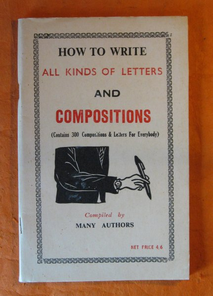 Image for [African Market Literature] How to Write All Kinds of Letters and Compositions