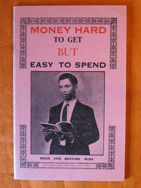 Image for [African Market Literature] Money Hard to Get But Easy to Spend