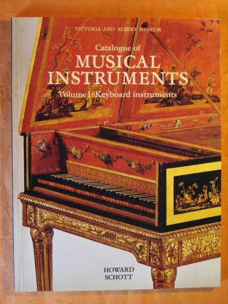 Image for Victoria and Albert Museum Catalogue of Musical Instruments, Volume I: Keyboard Instruments