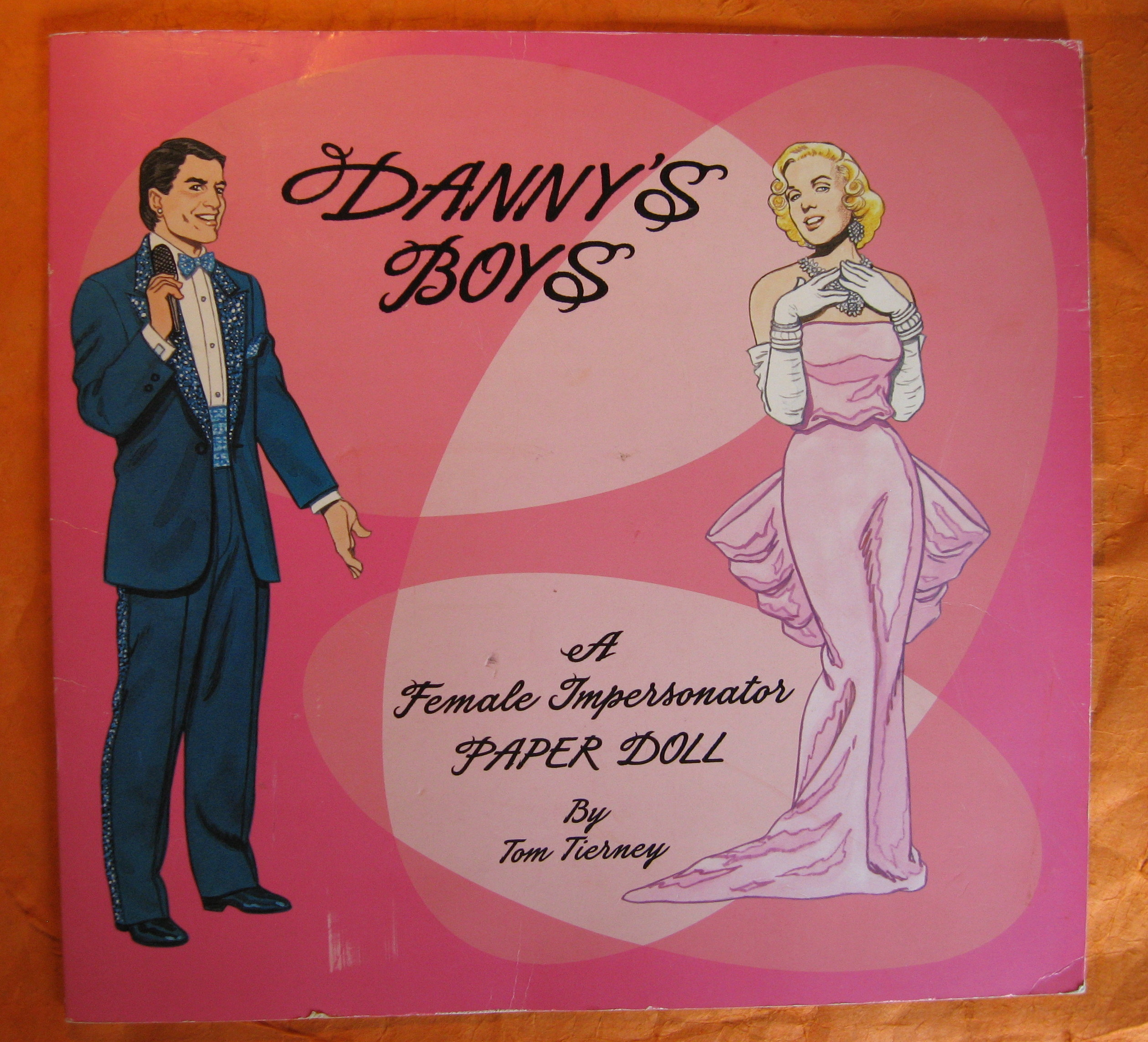 Image for Danny's Boys:  A Female Impersonator Paper Doll By Tom Tierney