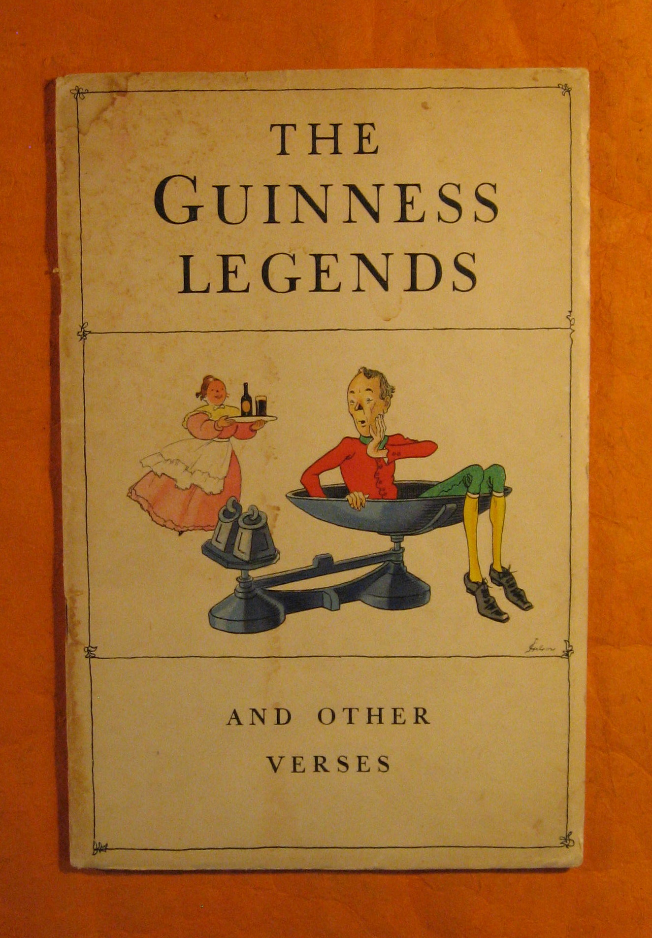 Image for The Guinness Legends and Other Verses