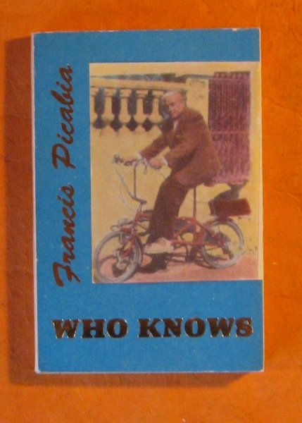 Image for Who Knows:  Poems and Aphorisms
