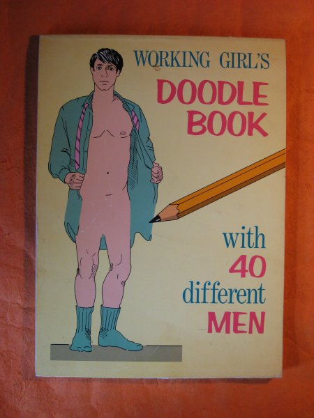 Image for Working Girl's Doodle Book with 40 Different Men