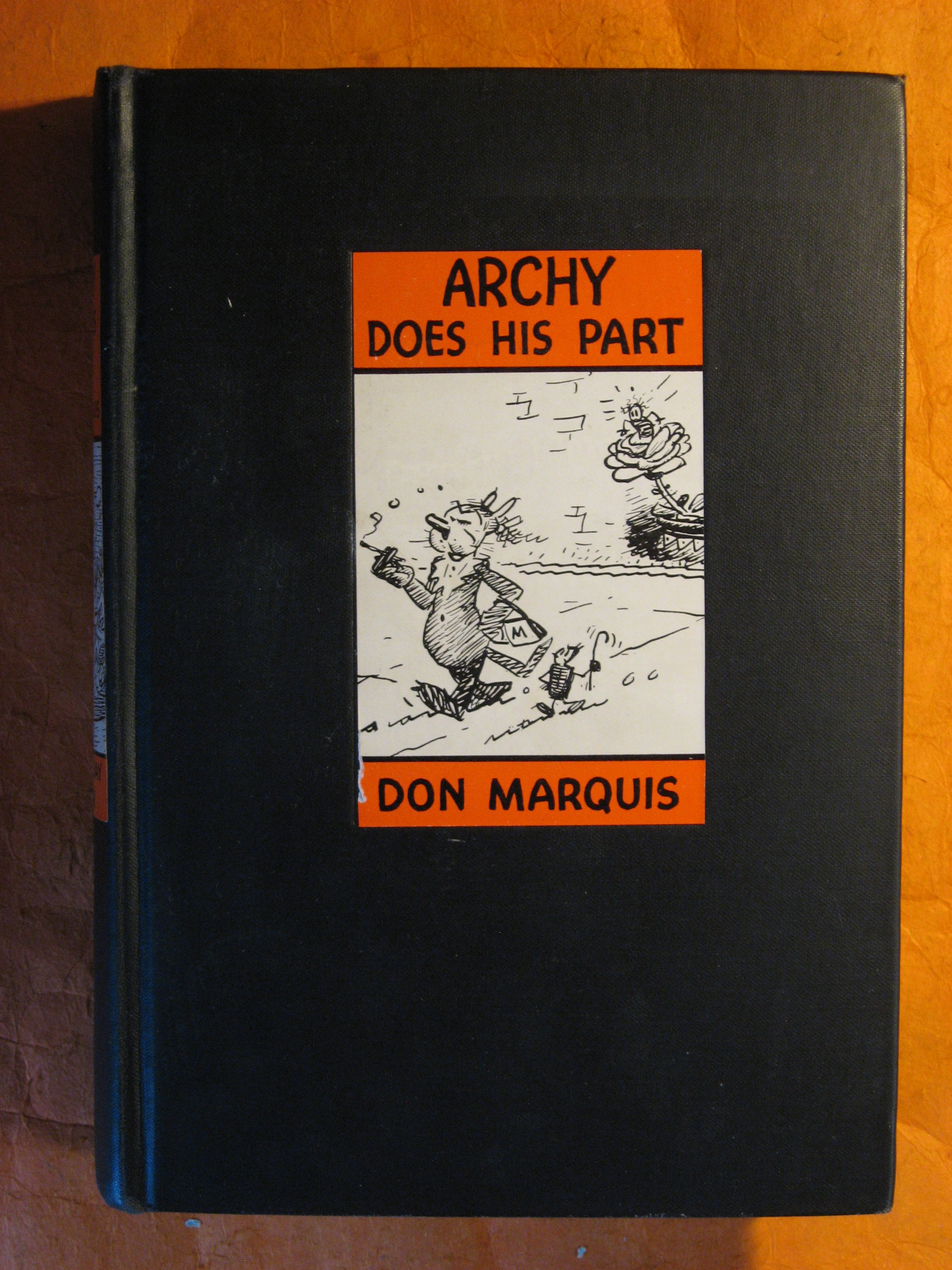 Image for Archy Does His Part
