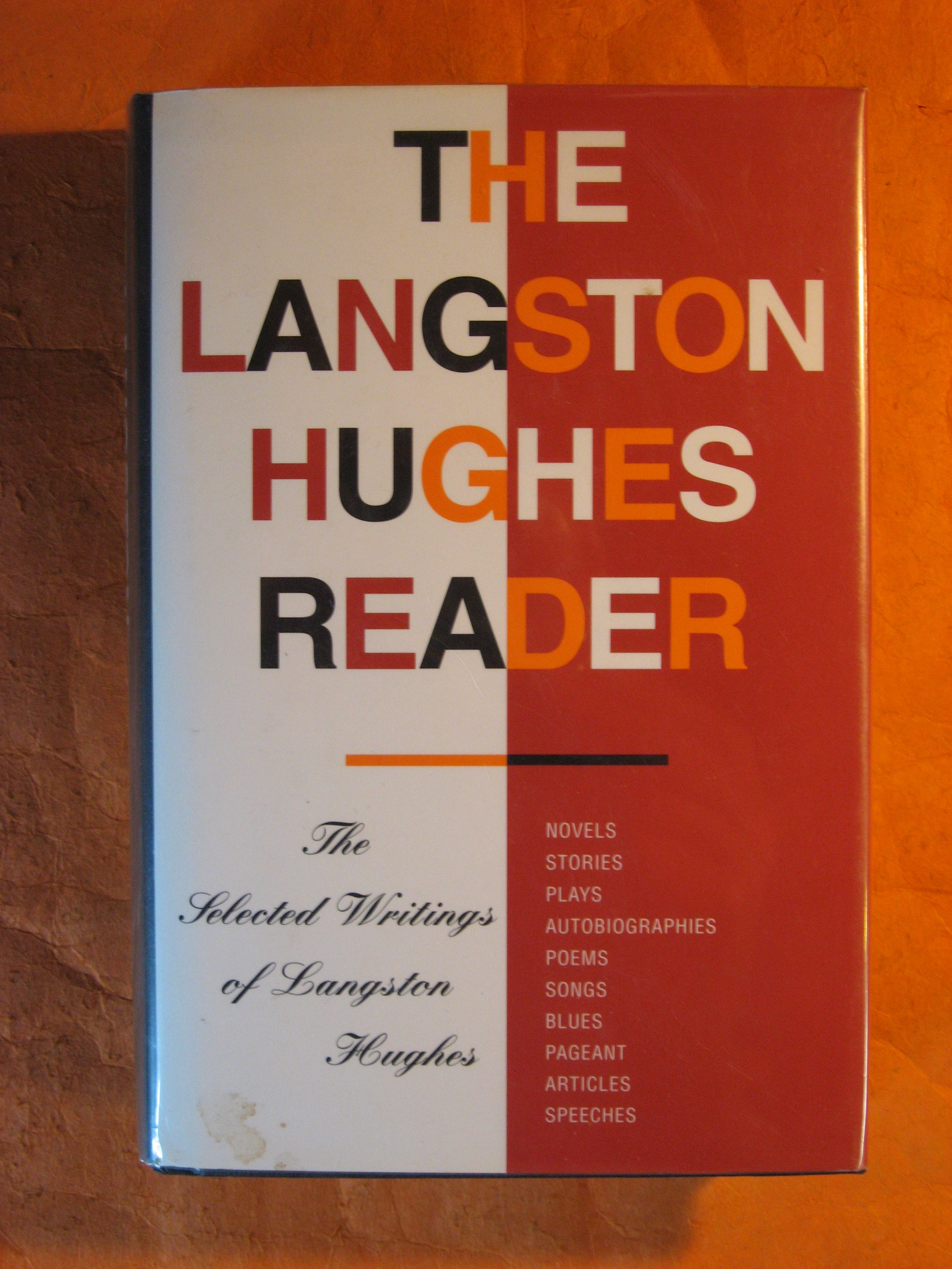 Image for The Langston Hughes Reader