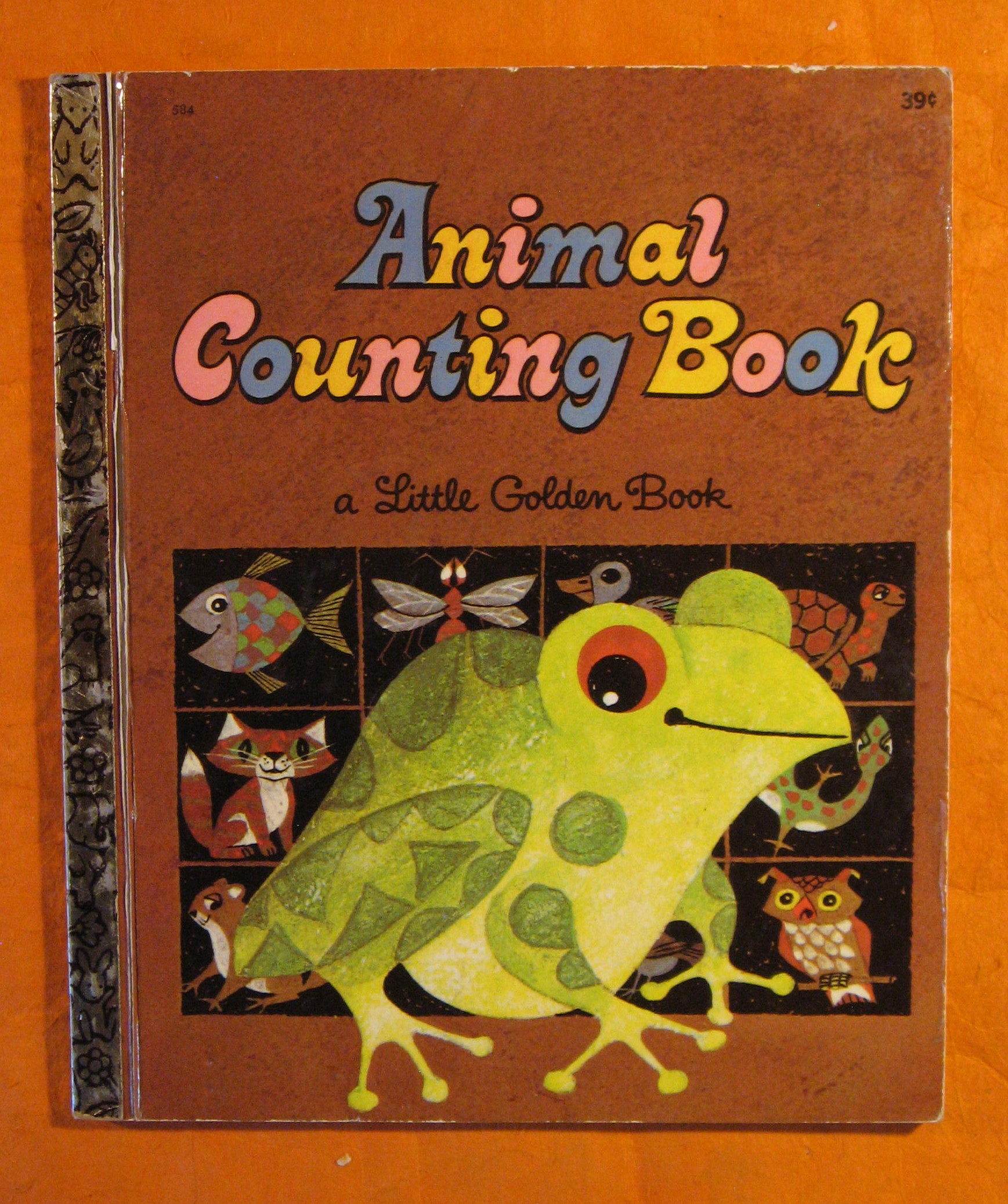 Image for Animal Counting Book