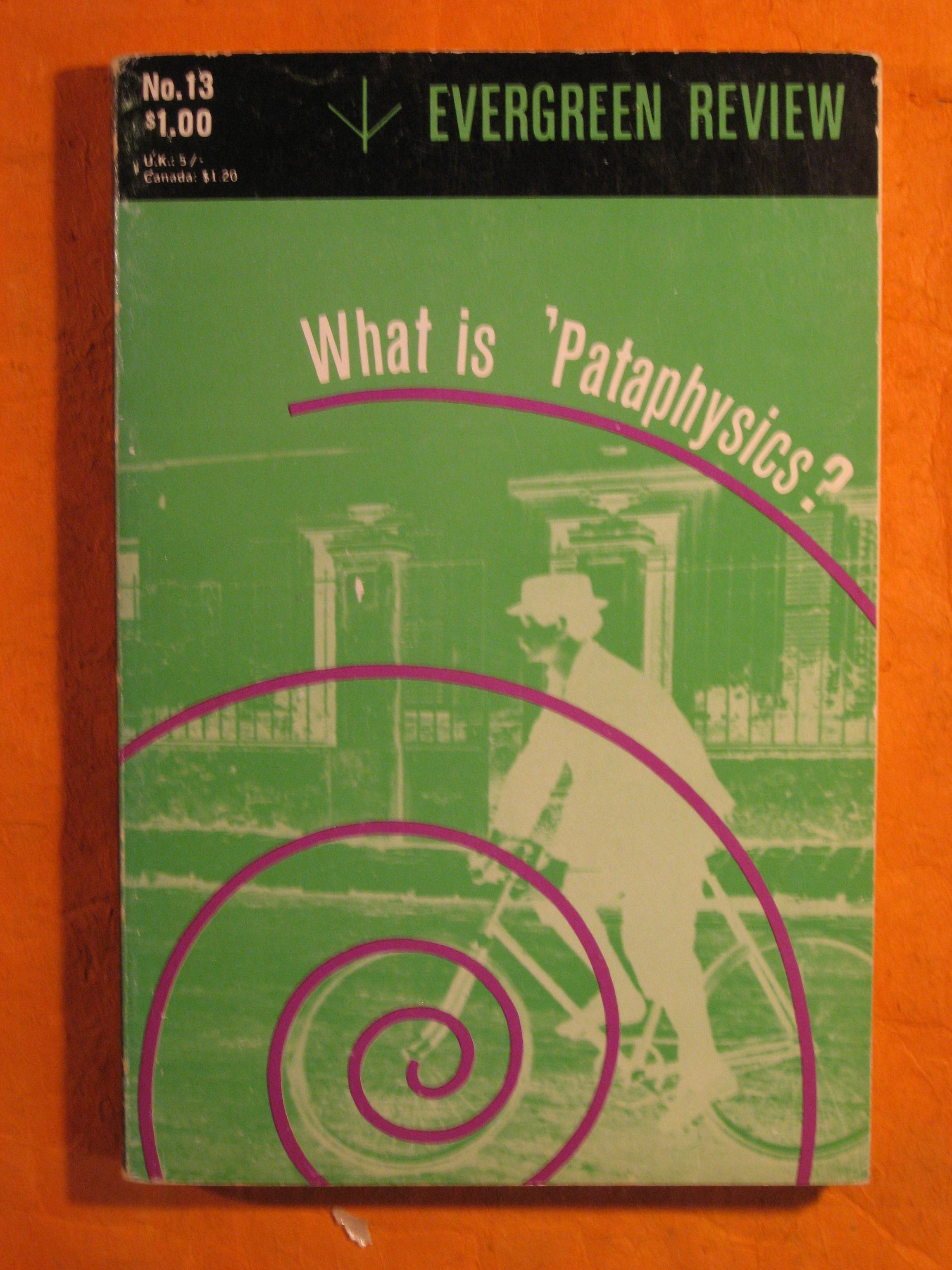 Image for Evergreen Review No. 13:  What is 'Pataphysics?  May - June 1960