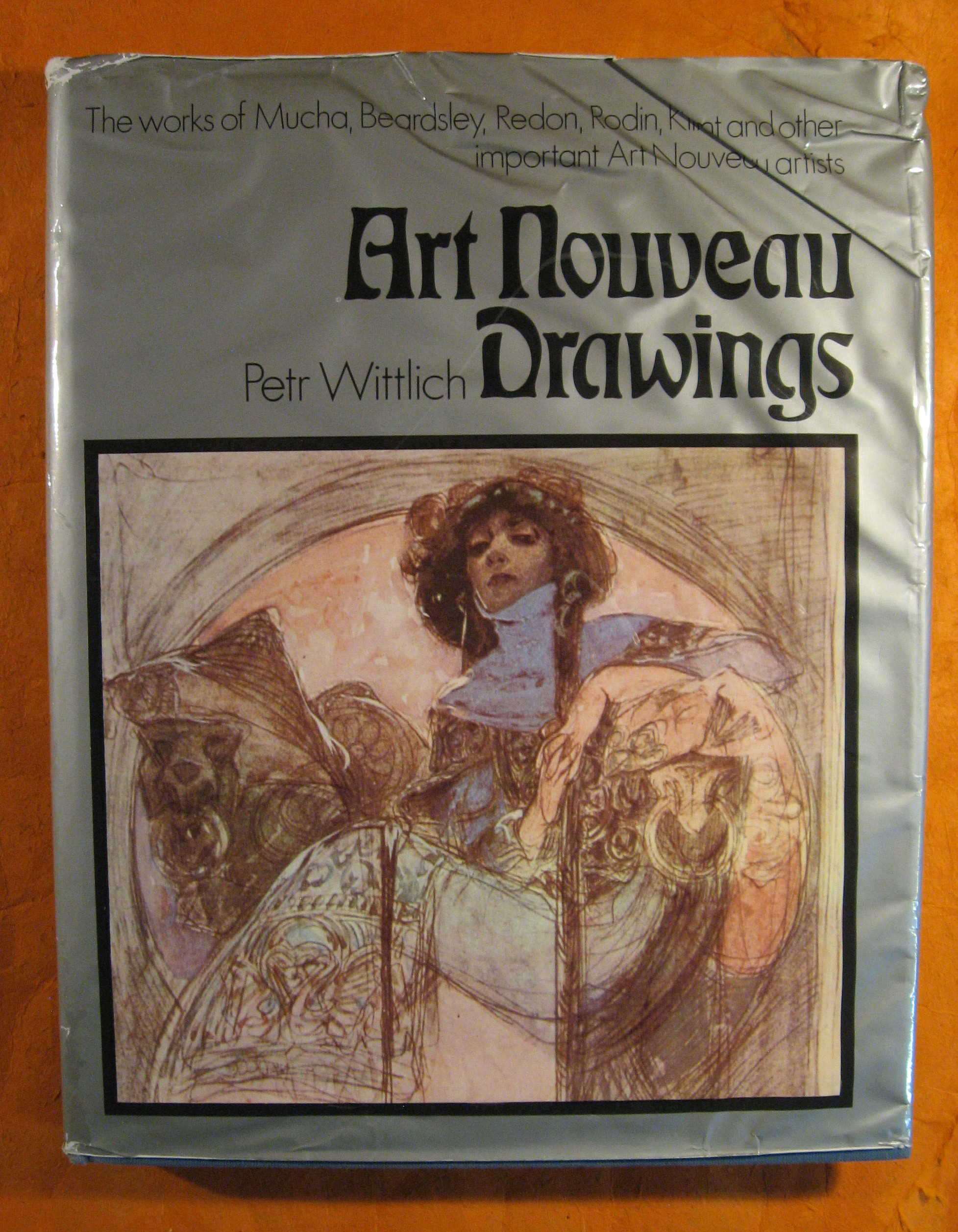 Image for Art Nouveau Drawings:  The Works of Mucha, Beardsley, Redon, Rodin, Klimt and Other Important Art Nouveau Artists