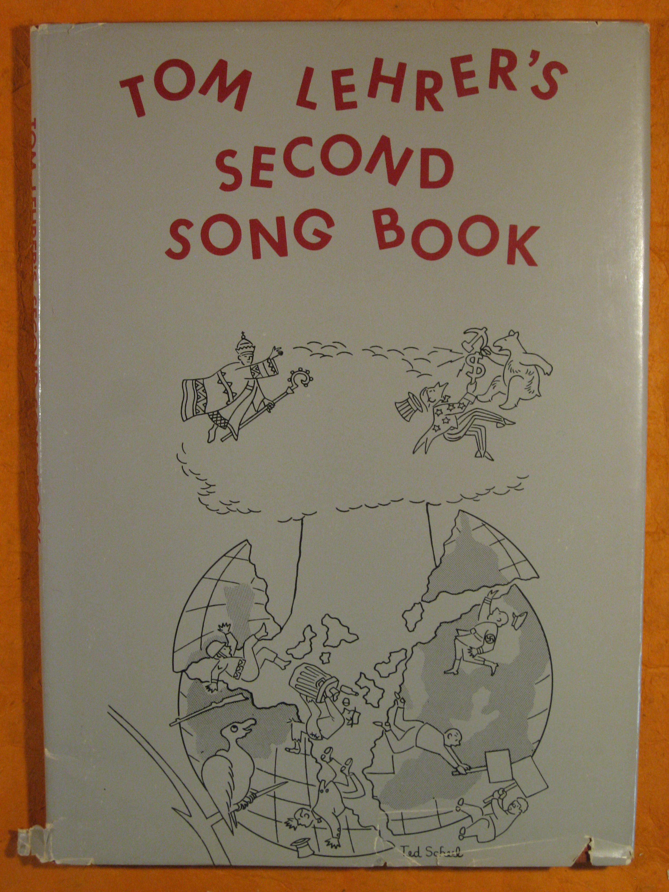 Image for Tom Lehrer's Second Song Book