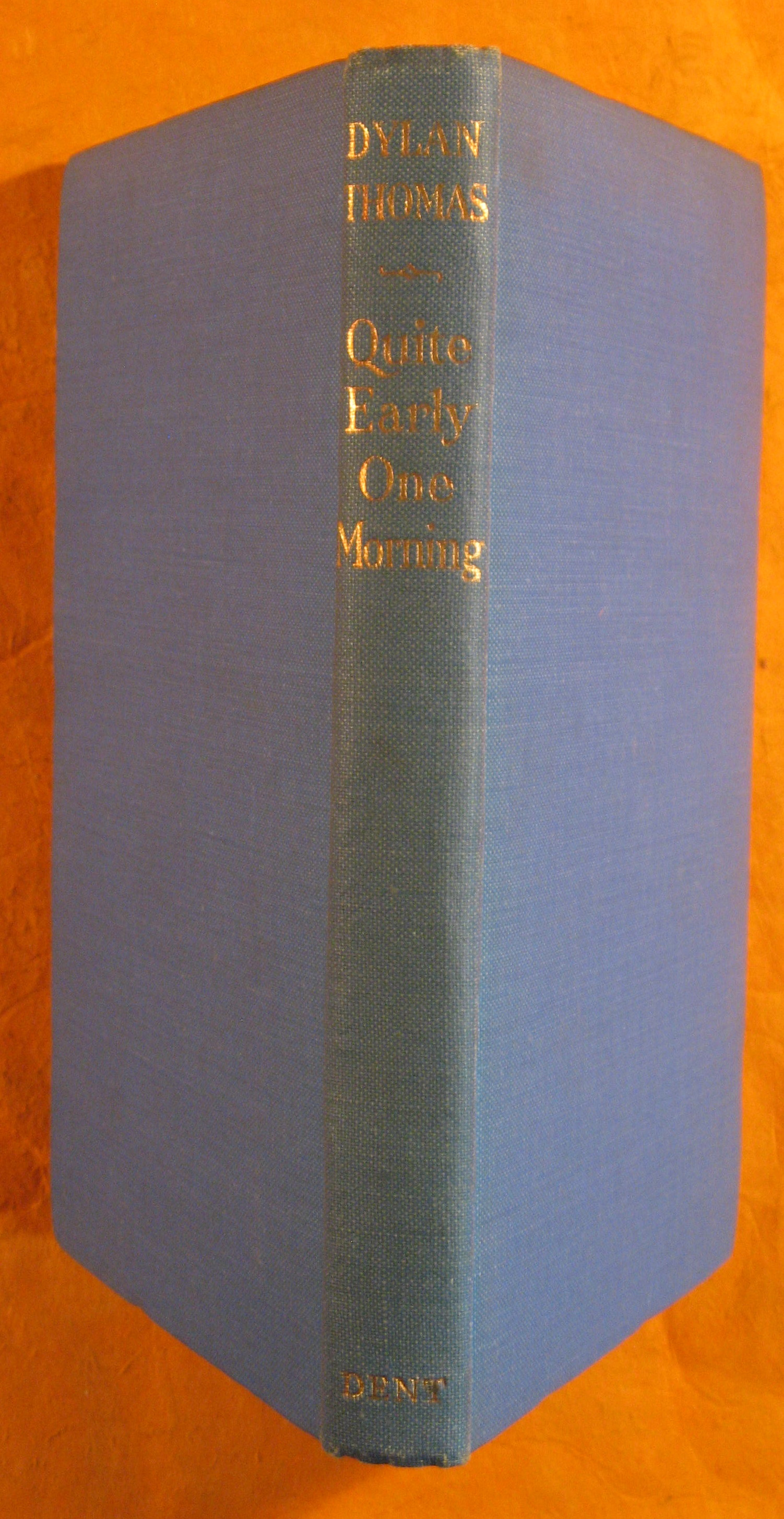 Image for Quite Early One Morning: Broadcasts By Dylan Thomas