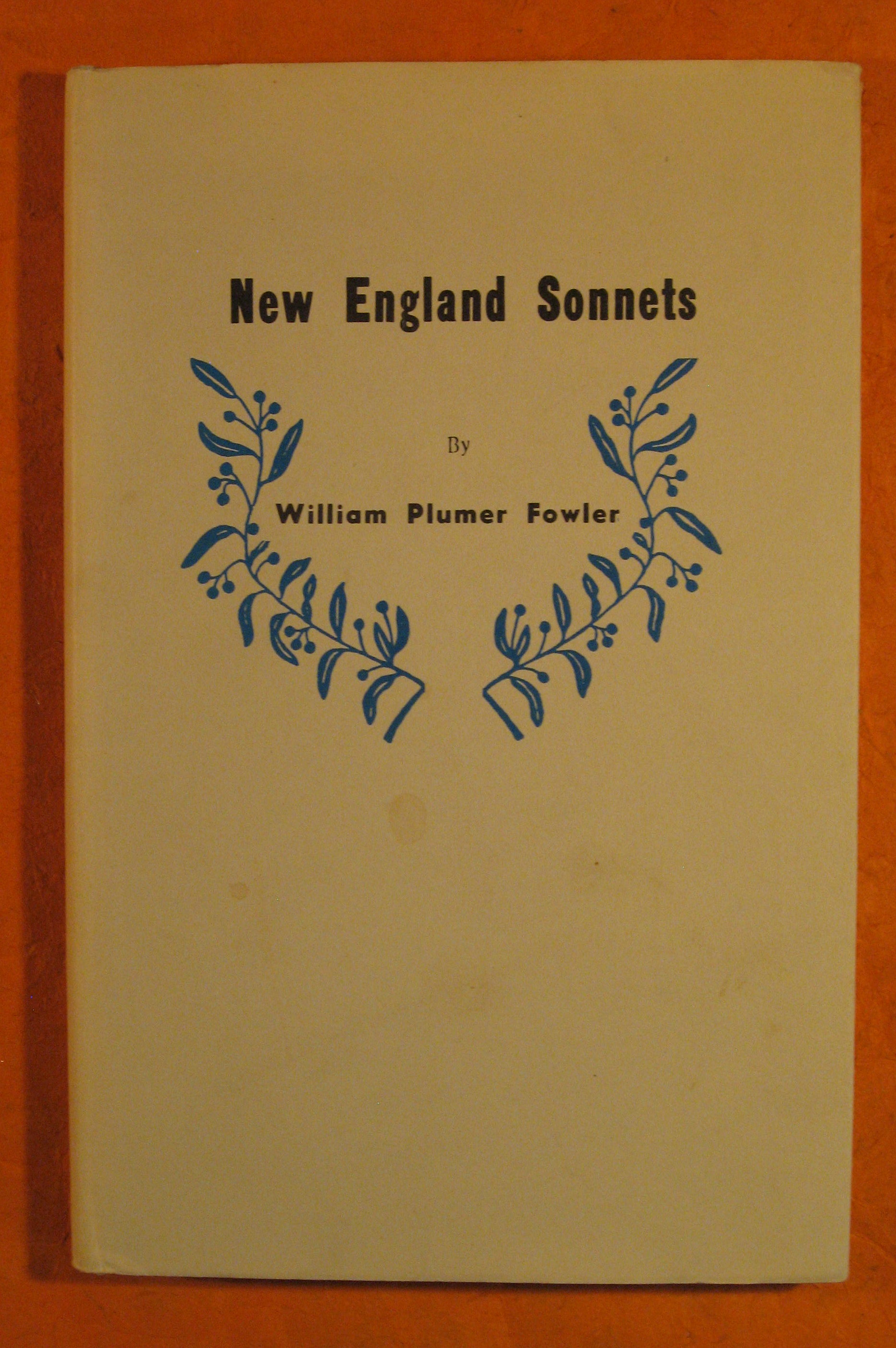 Image for New England Sonnets