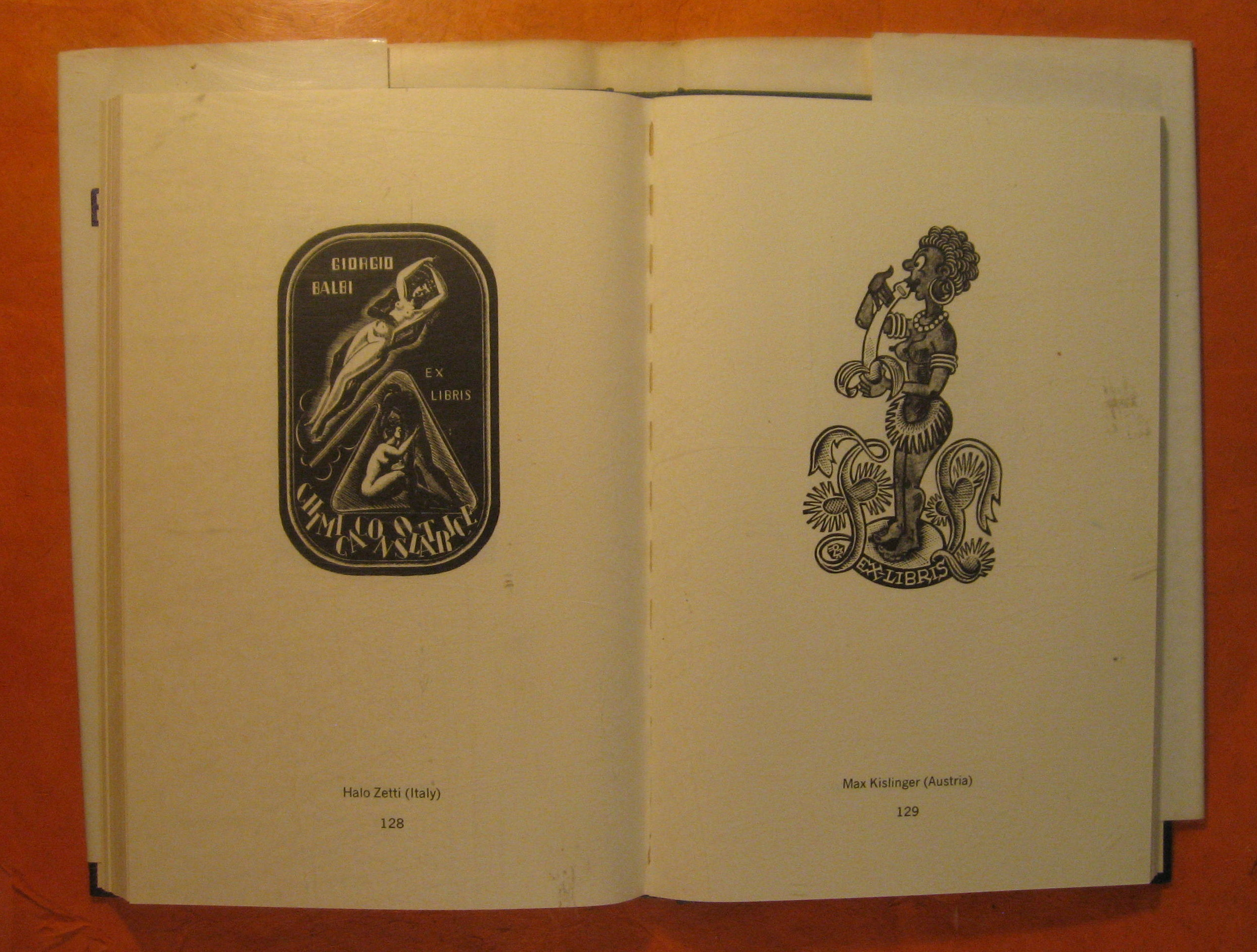 Image for Erotic Bookplates:  109 Miniatures from International Private Collections