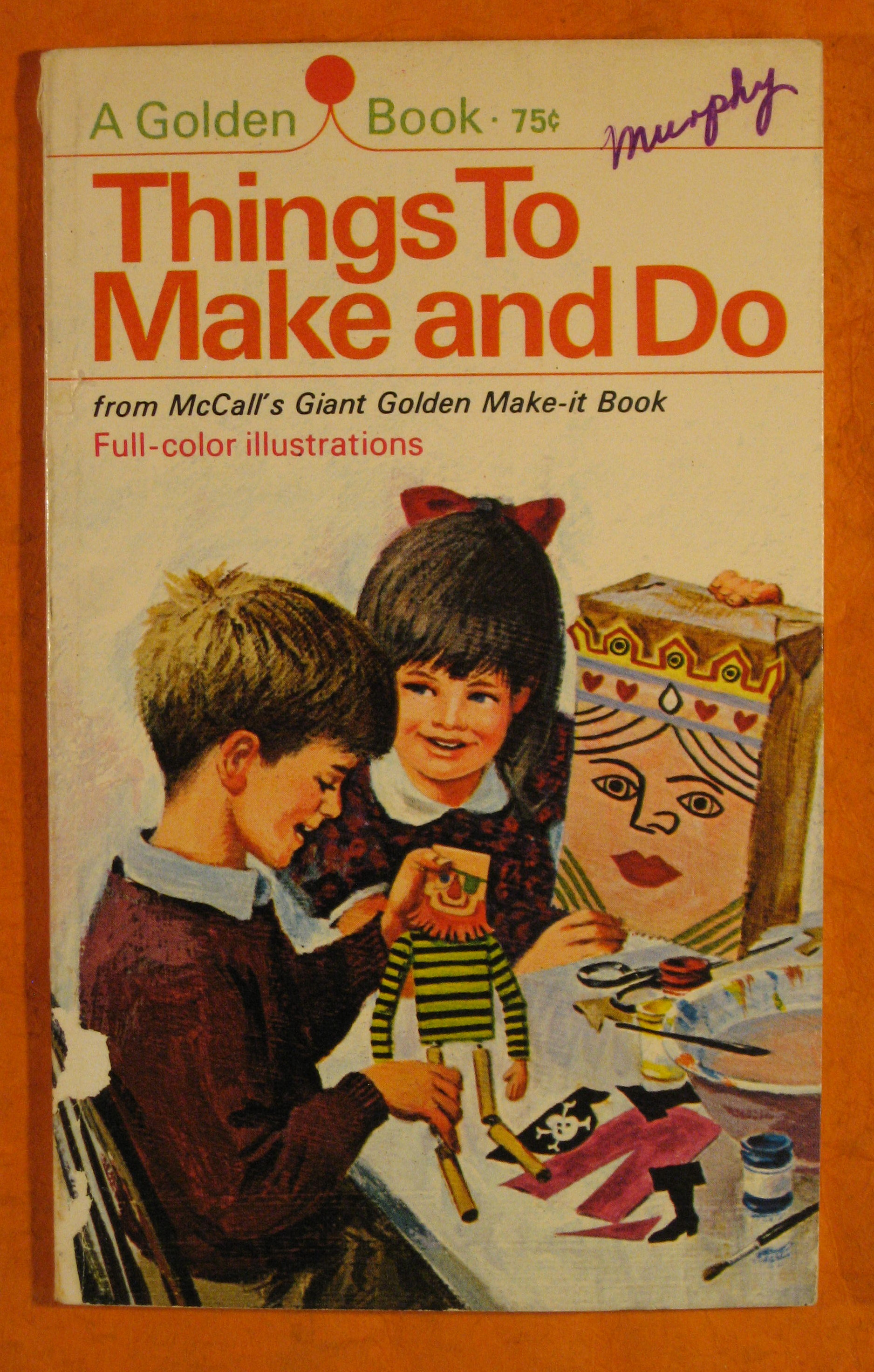 Image for Things to Make and Do from McCall's Giant Golden Make-it Book