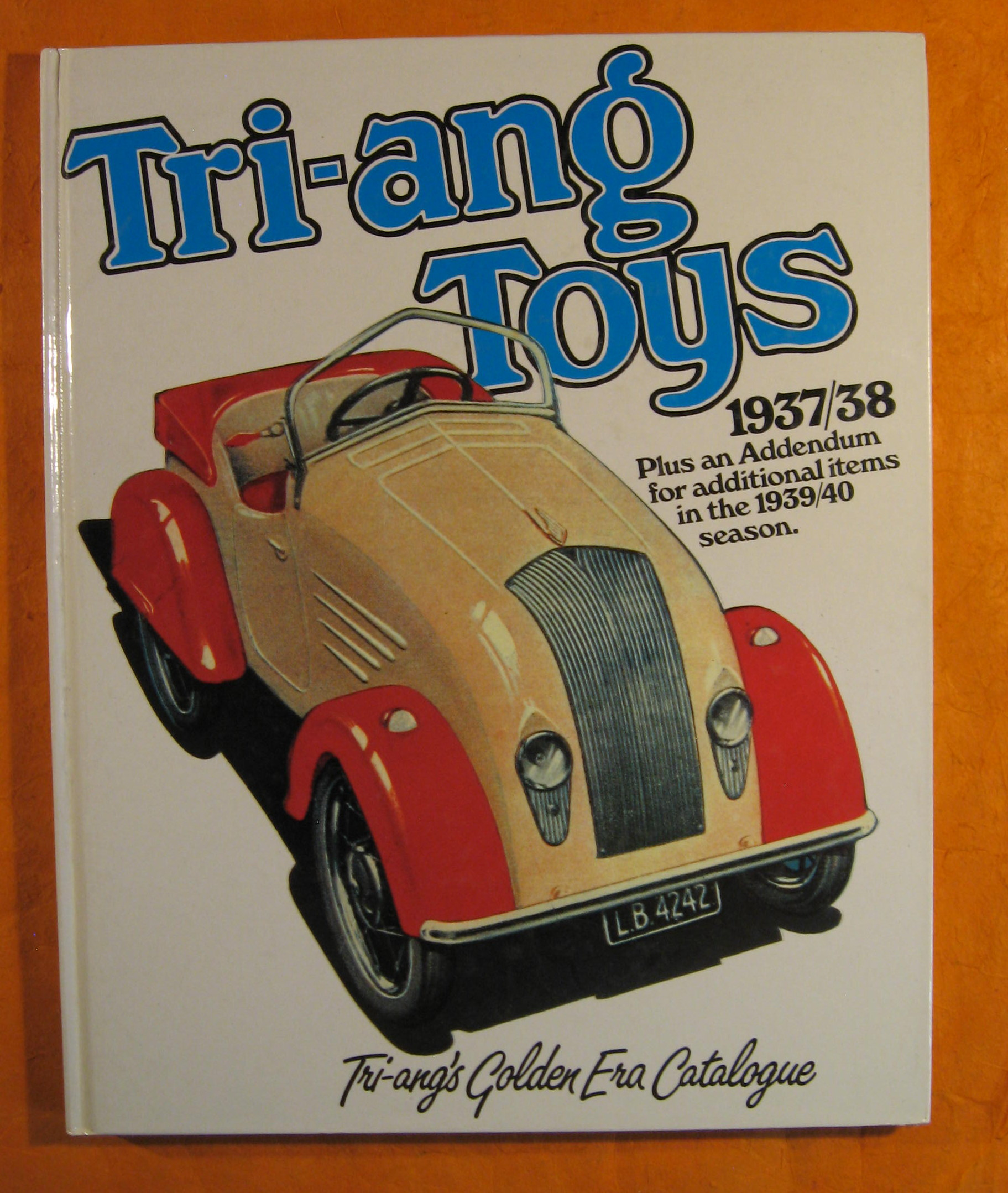 Image for Tri-ang Toys 1937-38 Plus an Addendum for additional items in the 1939/40 season. Tri-ang's Golden Era Catalogue