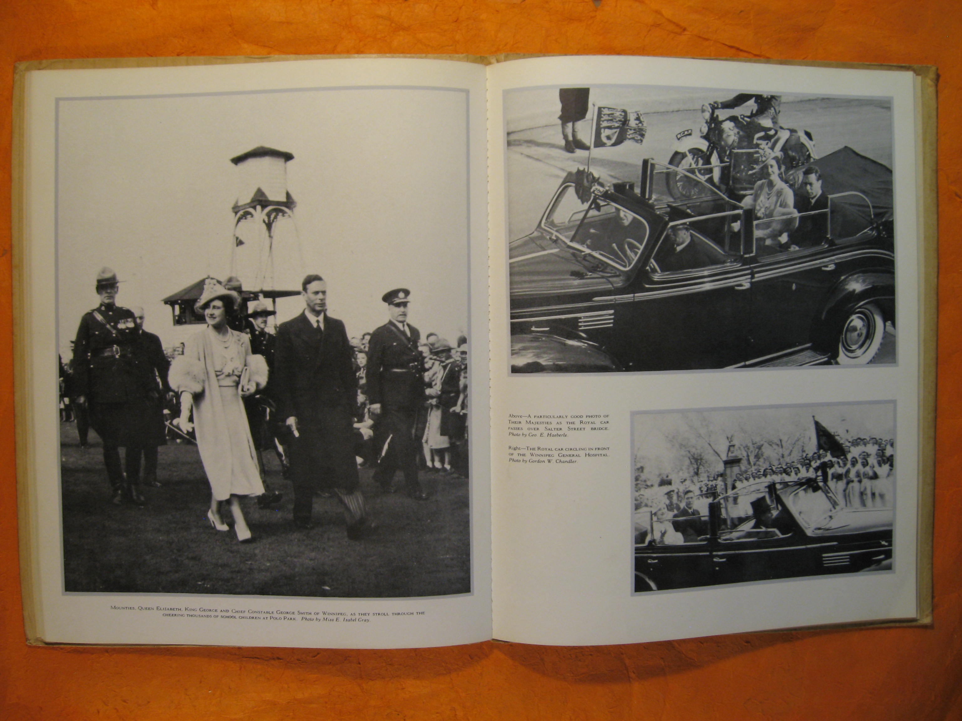 Image for Their Majesties Visit to Manitoba: A pictorial record of the visit of King George VI and Queen Elizabeth to the Province of Manitoba on May 24 and June 4, 1939