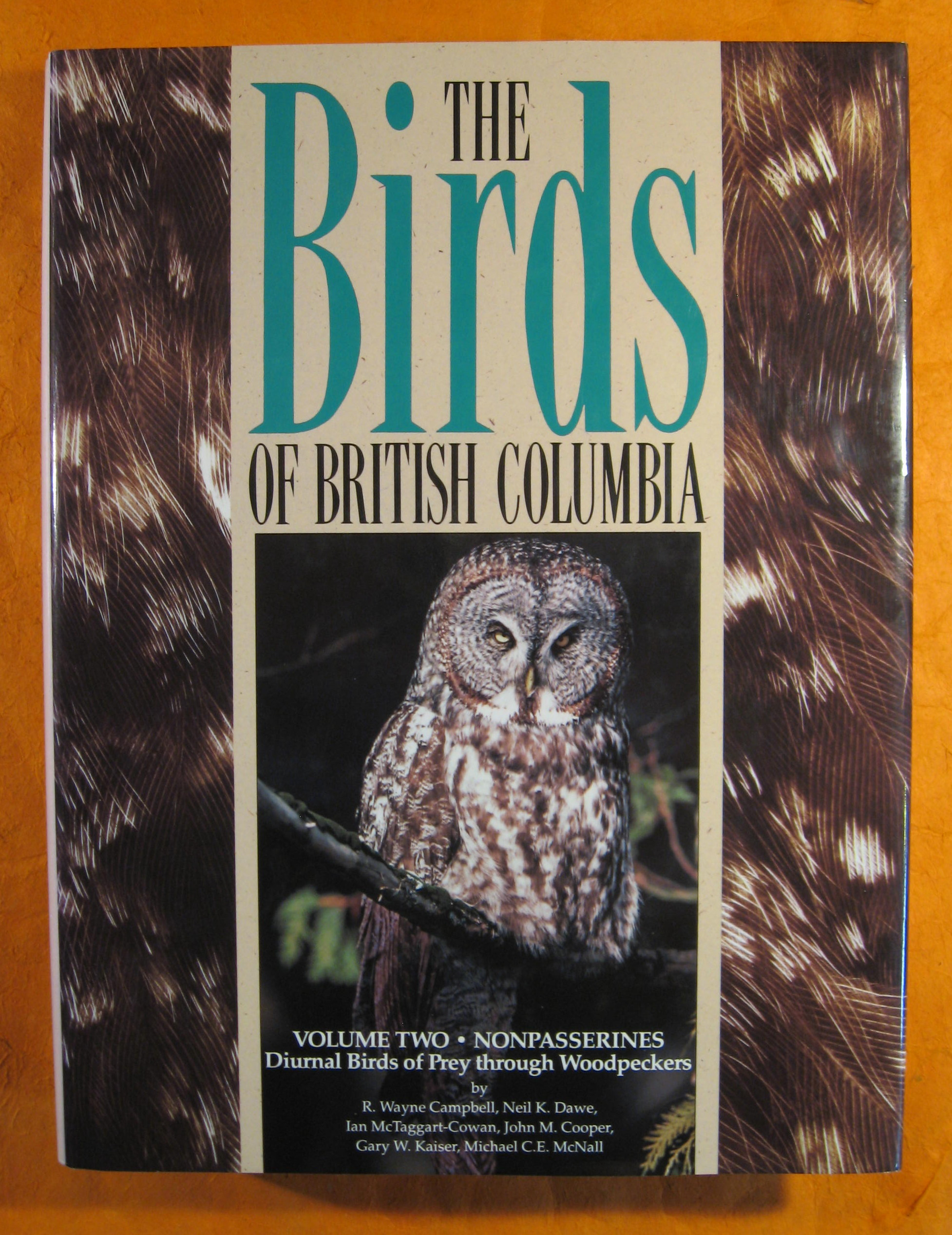 Image for The Birds of British Columbia Volume Two:  Nonpasserines; Diurnal Birds of Prey Through Woodpeckers