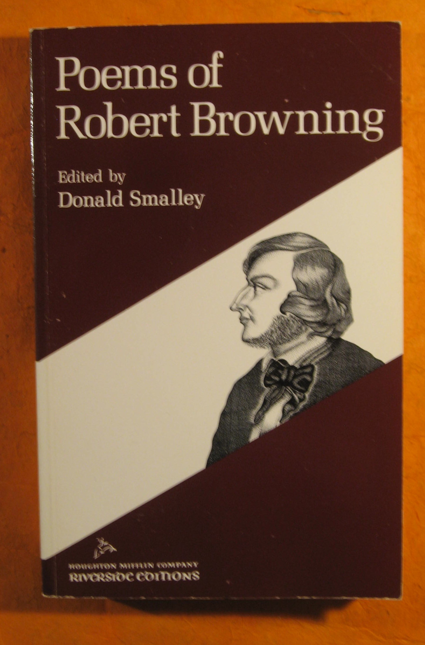 Image for Poems of Robert Browning (Riverside Editions)