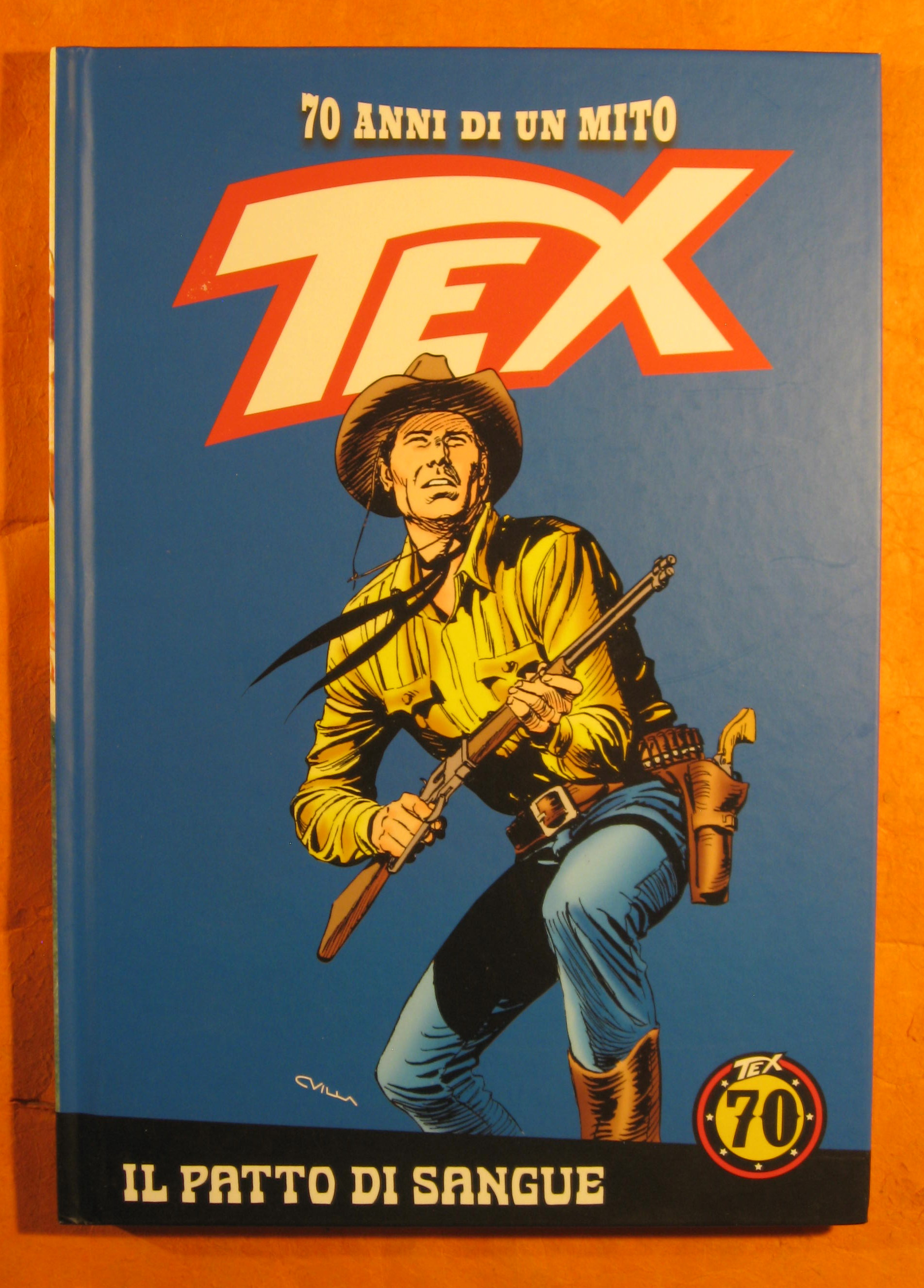 Image for Tex: 70 Anni Di Un Mito: Il Patto Di Sangue