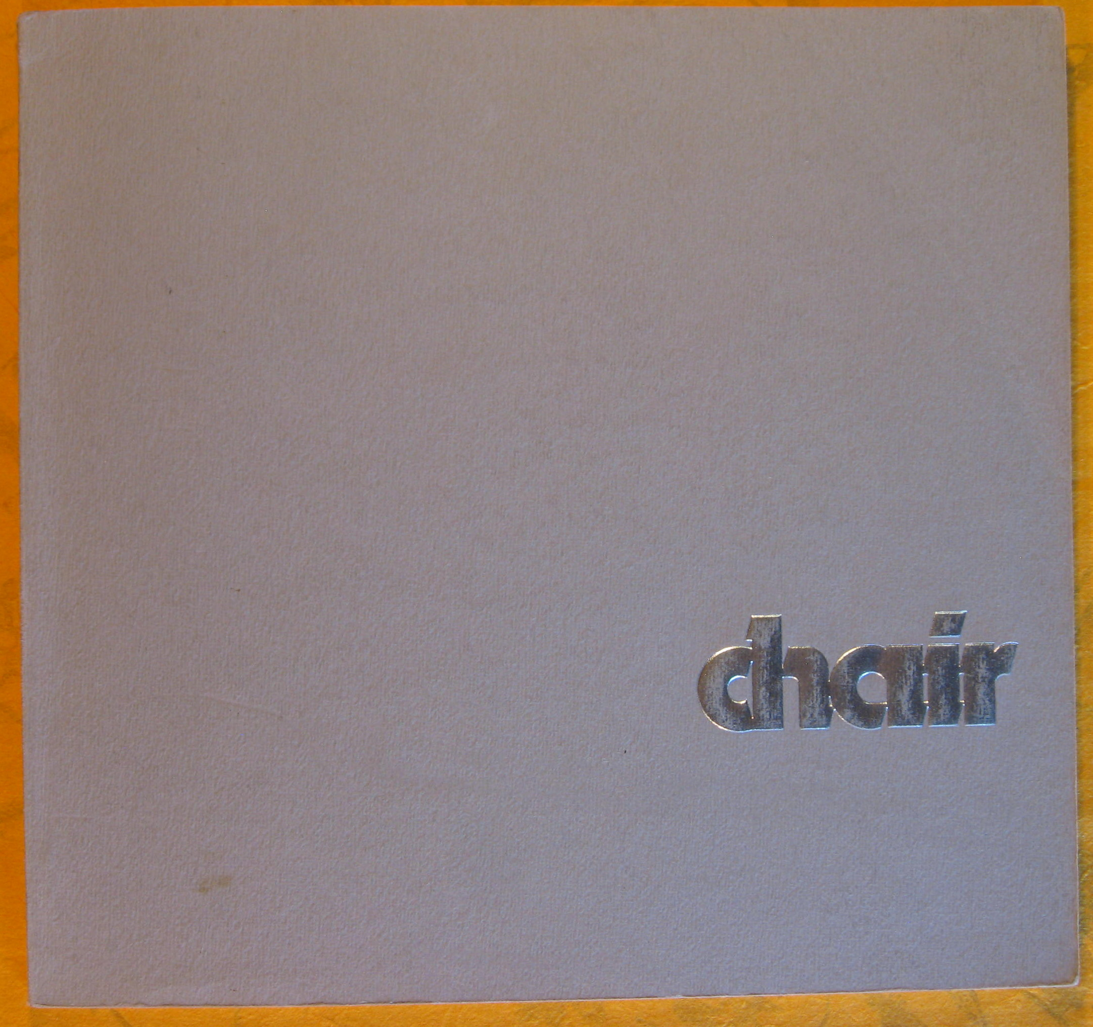 Image for The 1977 International Chair Design Competition