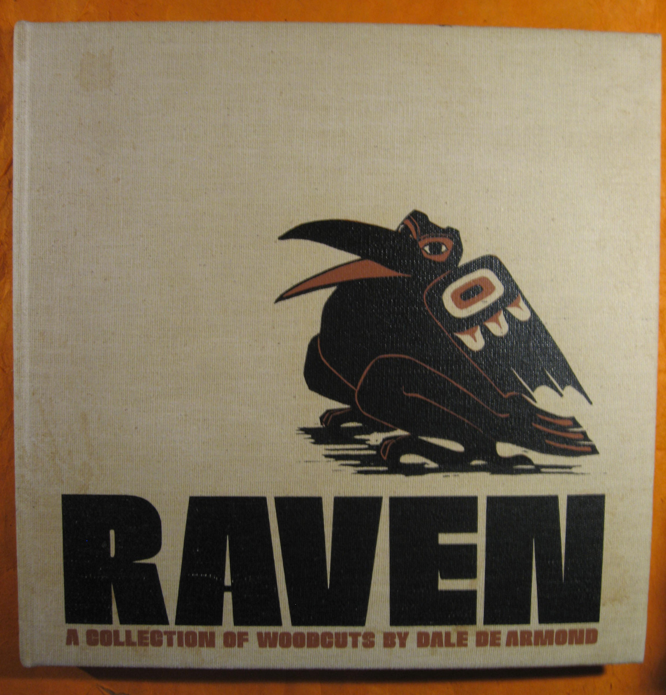 Image for Raven:  A Collection of Woodcuts by Dale De Armond