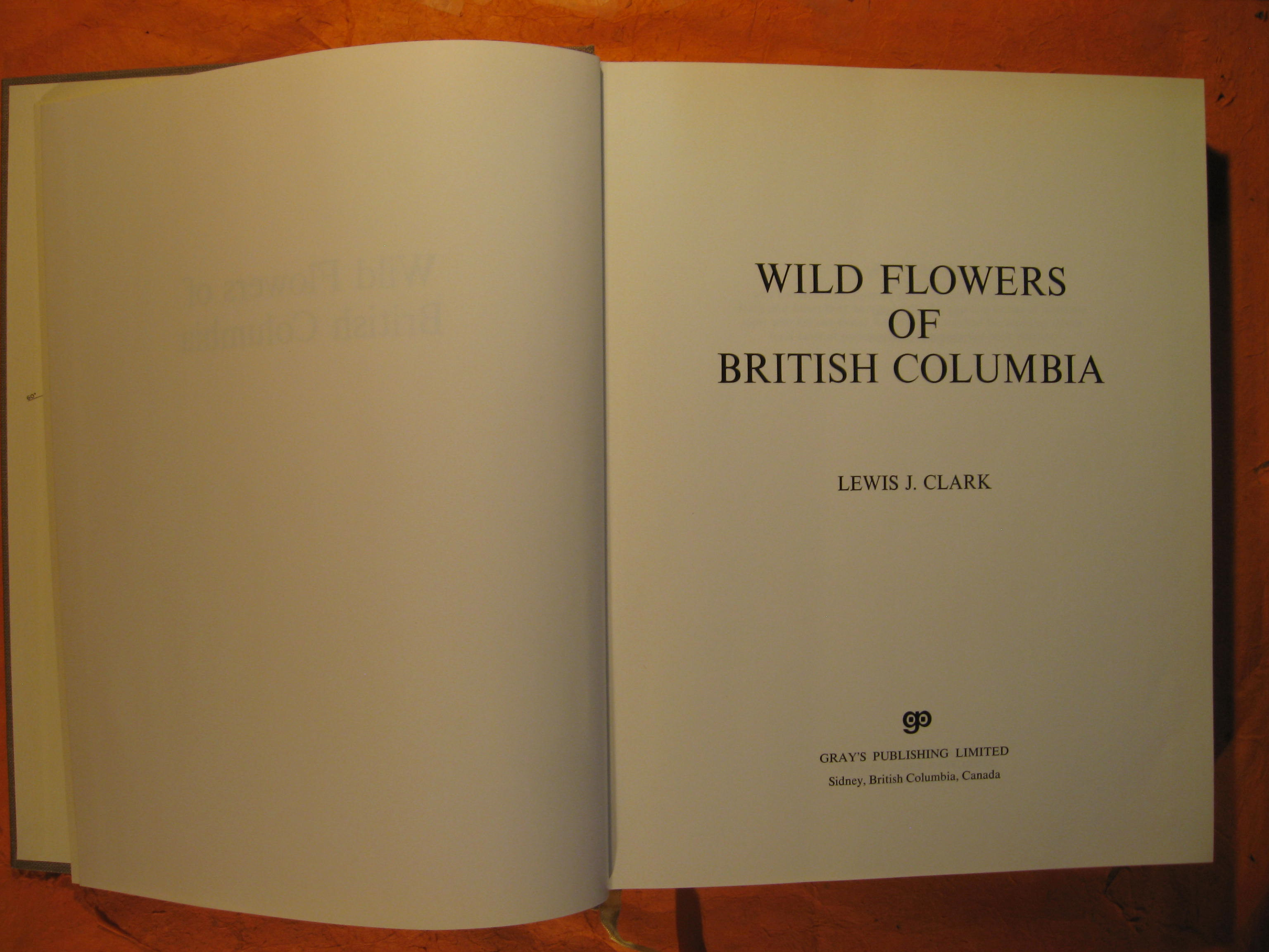 Image for Wild flowers of British Columbia