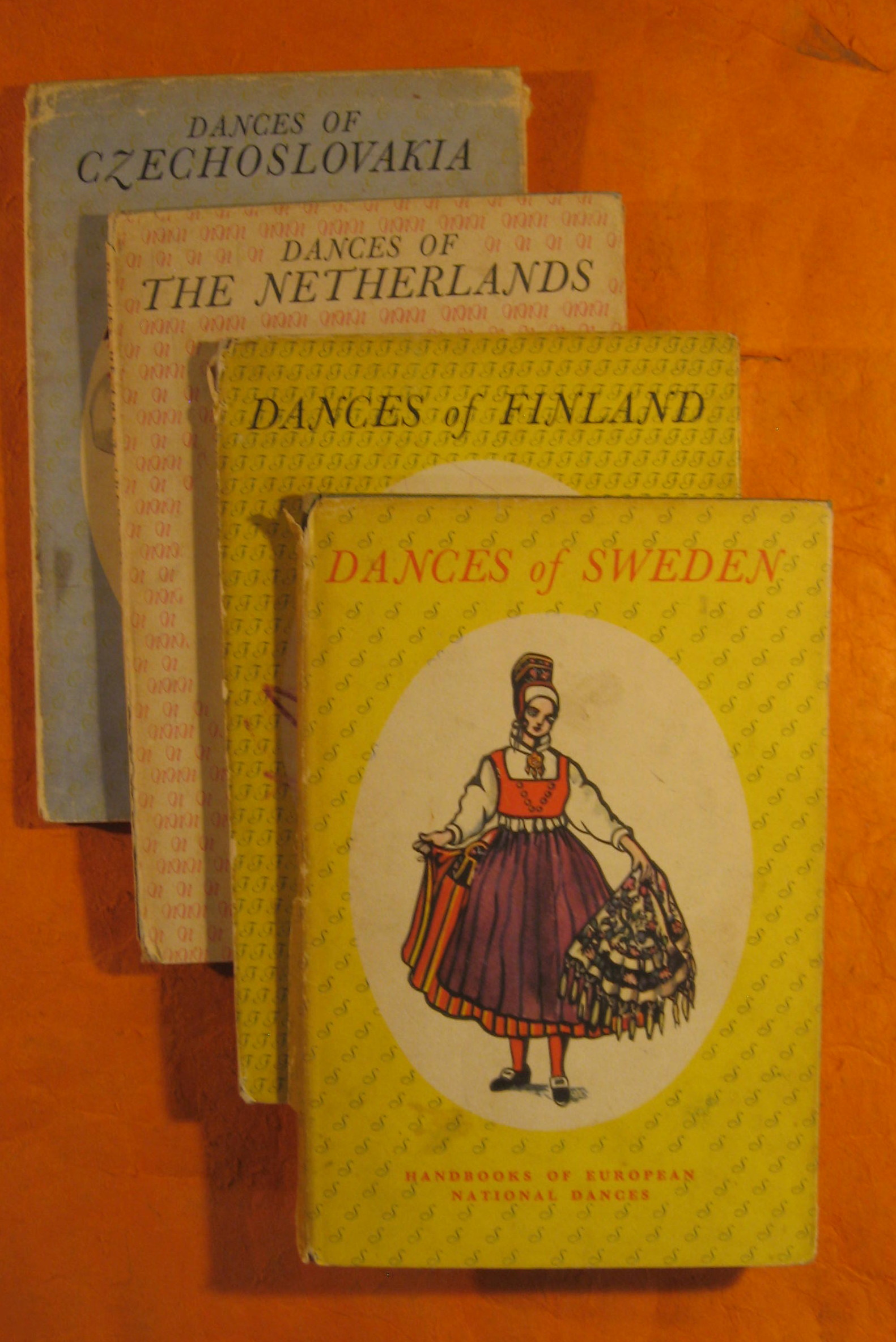 Image for Handbooks of European National Dances (Eight Dance Books on International Folk Dance from the Forties)