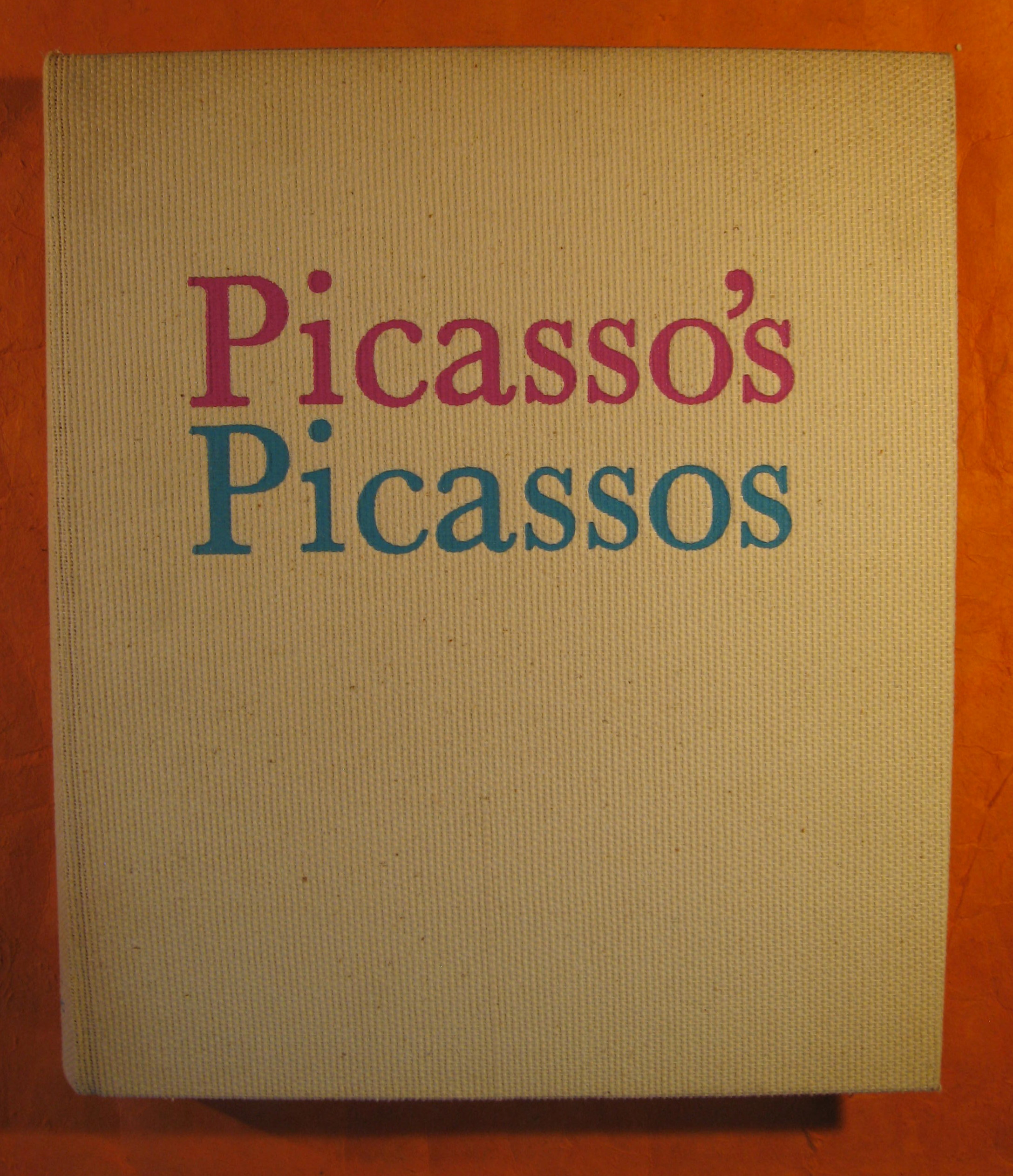 Image for Picasso's Picasso
