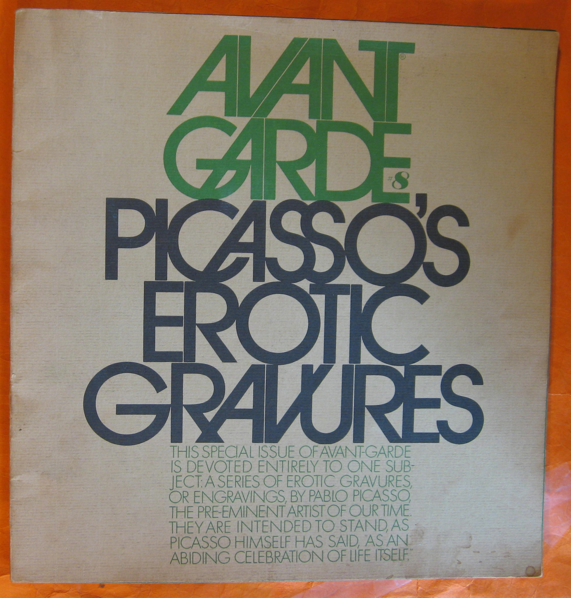 Image for Avant Garde #8:  Picasso's Erotic Gravures