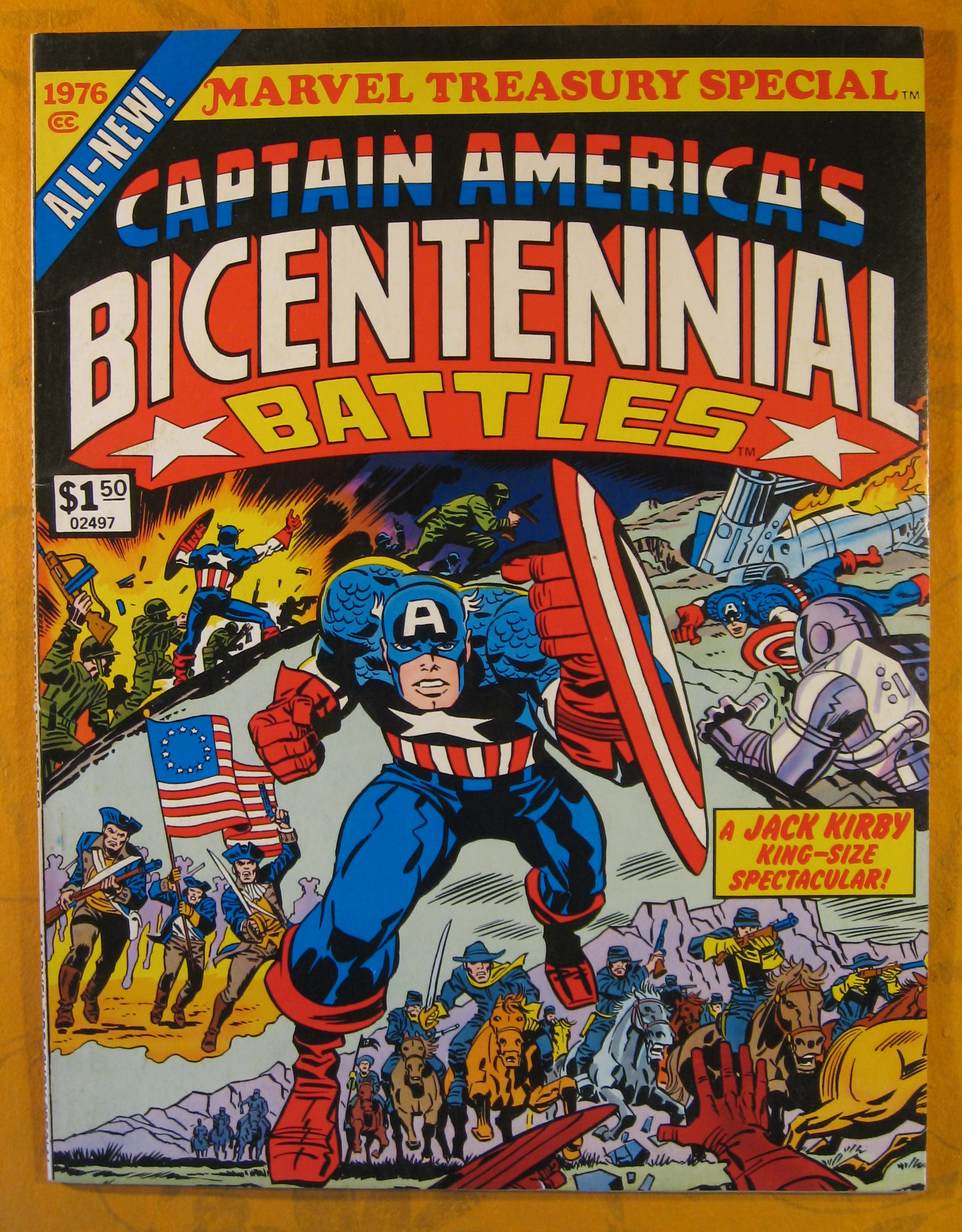 Image for Marvel Treasury Special:  Captain America's Bicentennial Battles