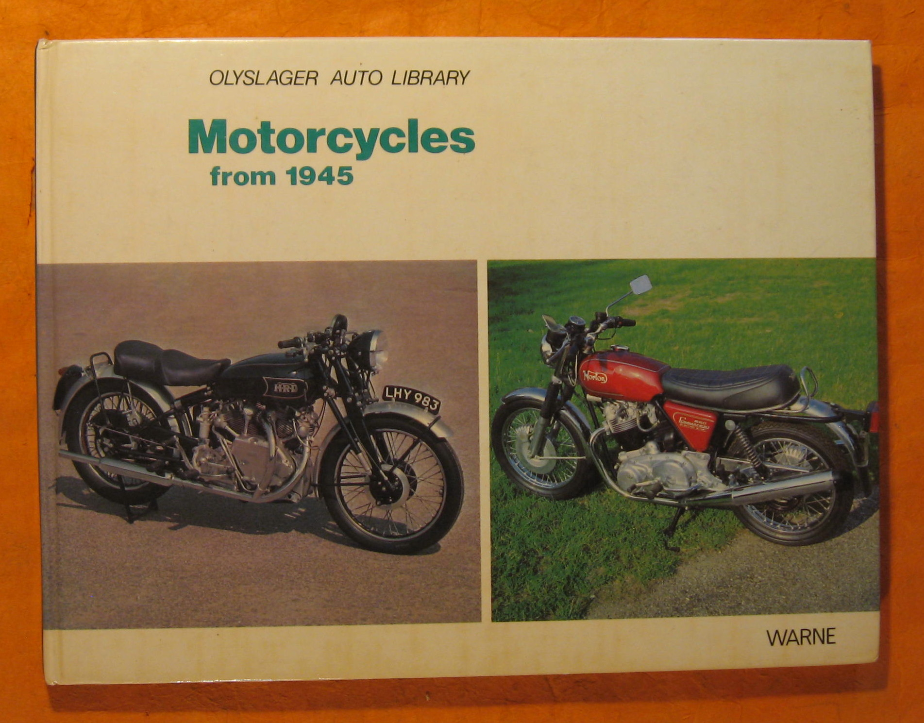 Image for Motorcycles and Scooters from 1945 (Olyslager Auto Library)