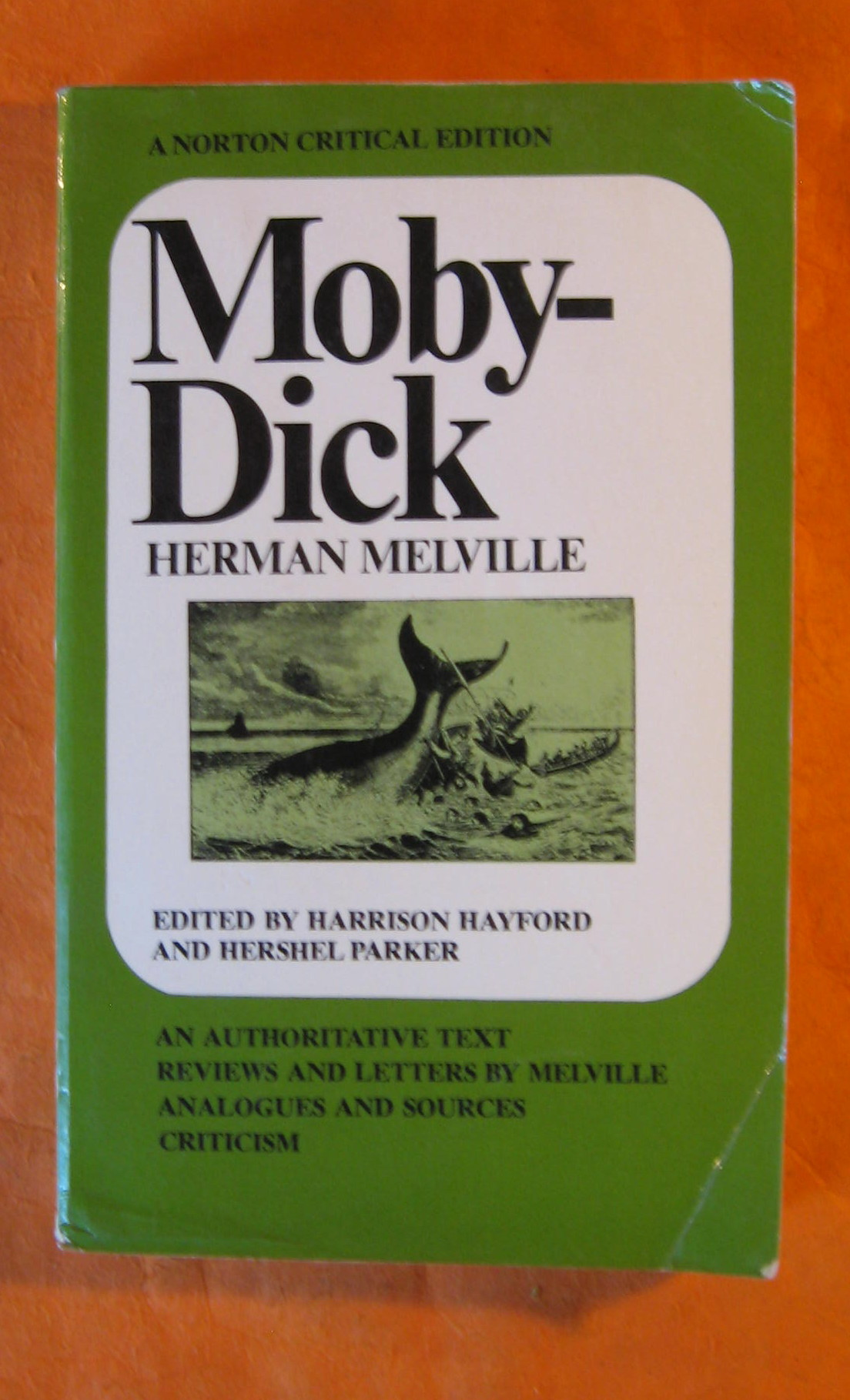 Image for Moby Dick (Norton Critical Edition)