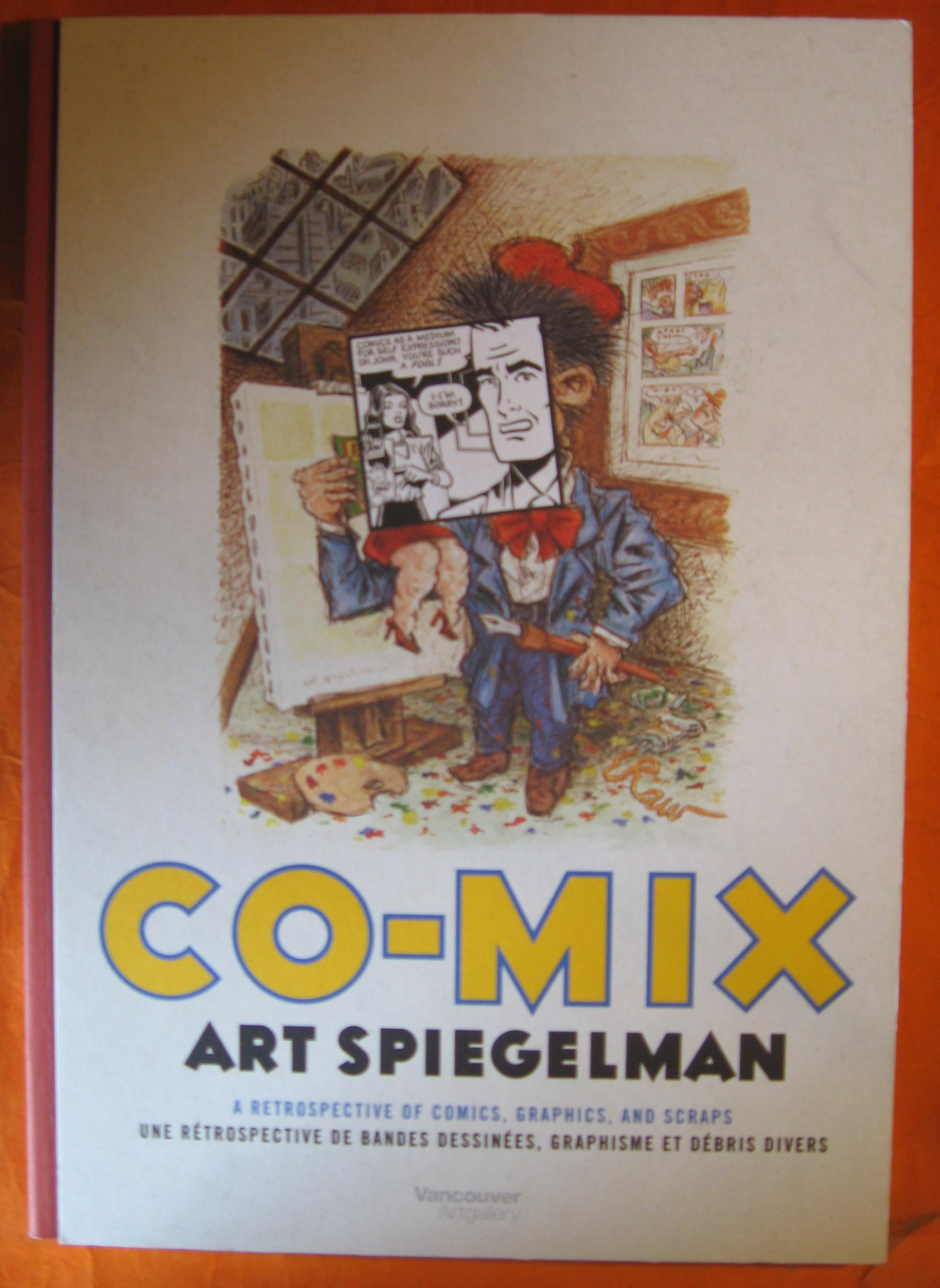 Image for Co-mix Art Spiegelman:  A Retrospective of Comics, Graphics, and Scraps