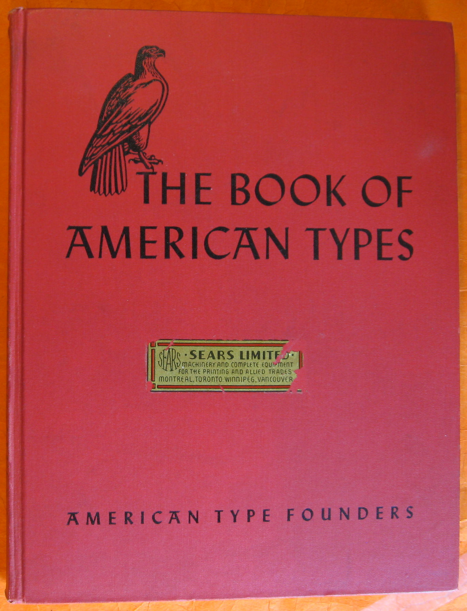 Image for The Book of American Types