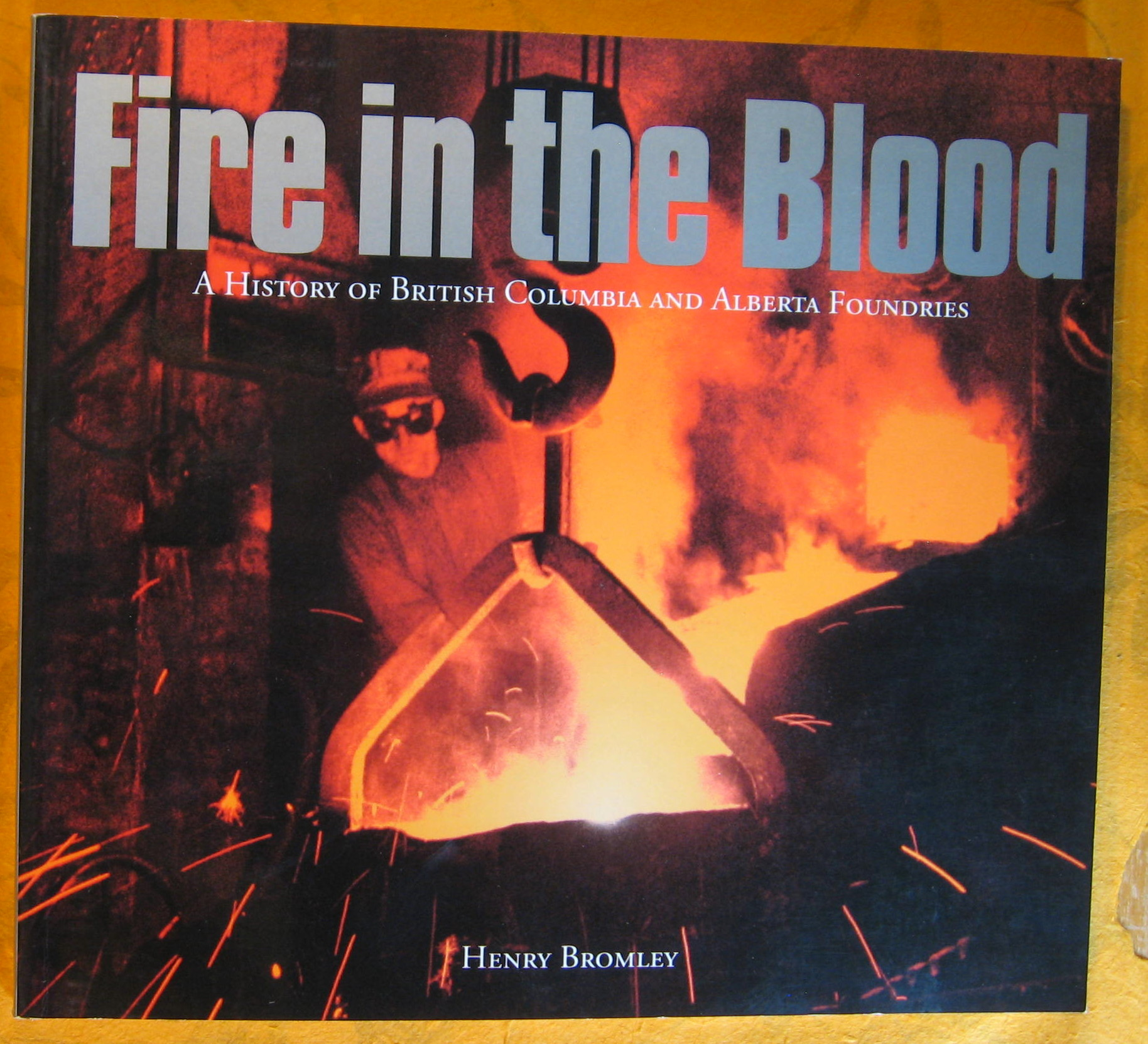 Image for Fire in the Blood: A History of British Columbia and Alberta Foundries