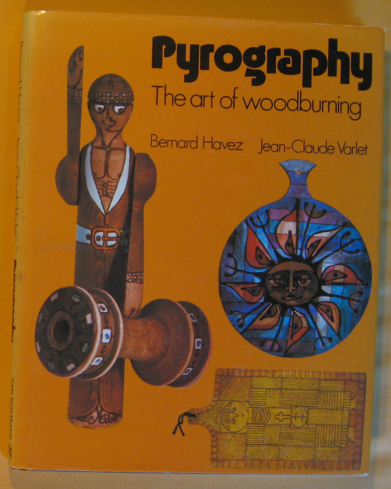 Image for Pyrography: The art of woodburning