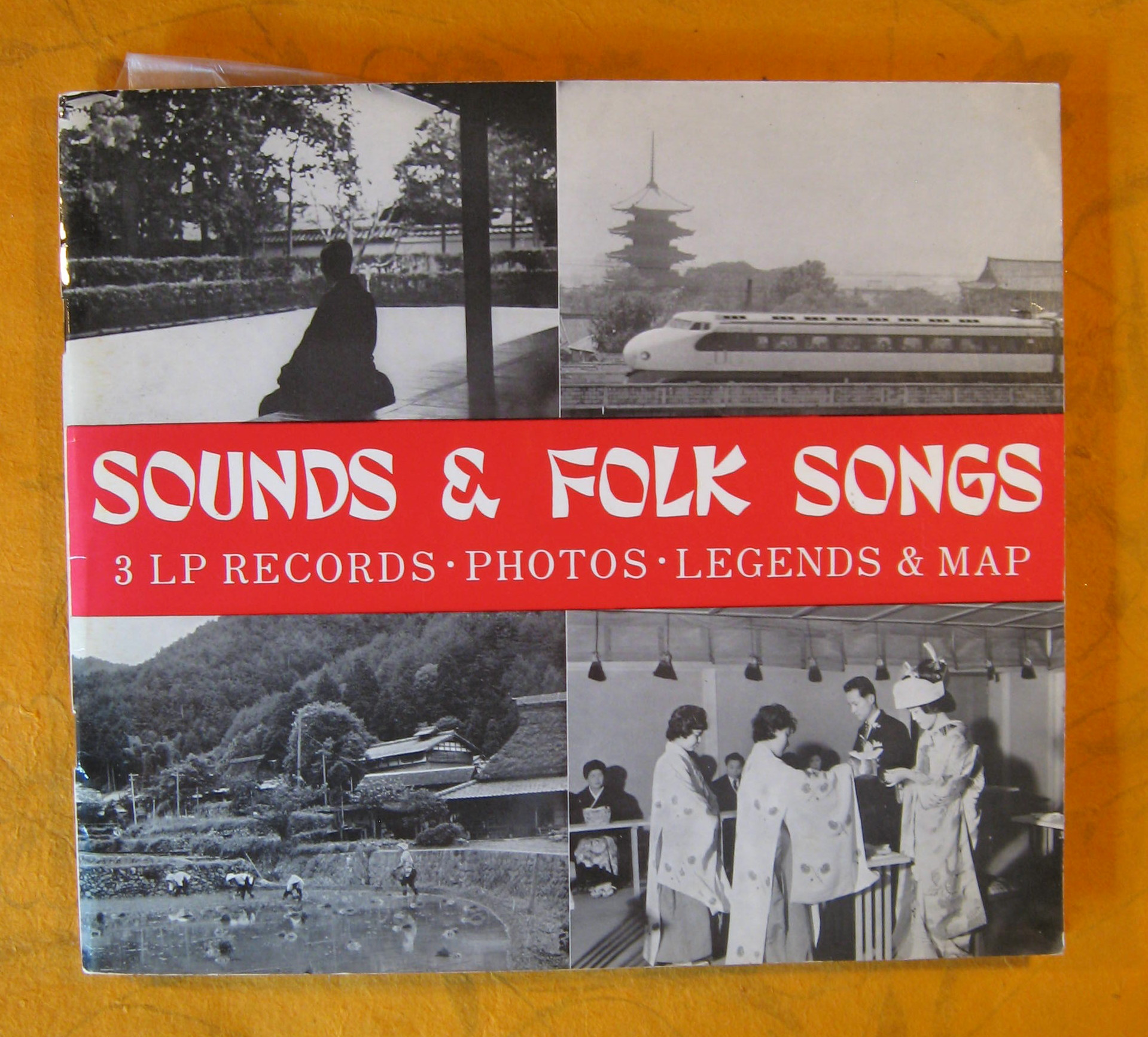 Image for Sounds & Folk Songs: 3 LP Records; Photos; Legends & Map
