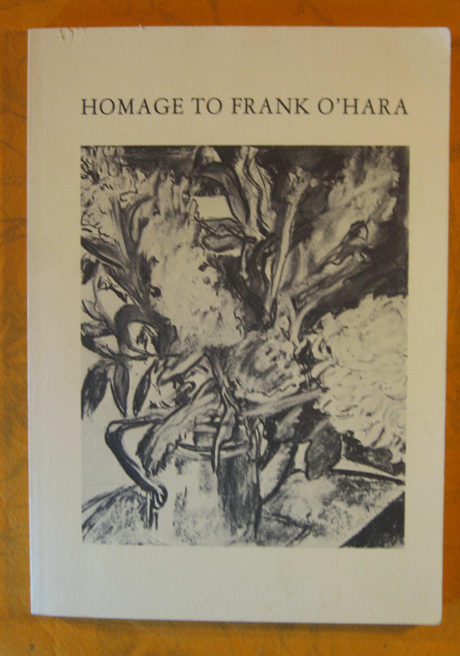 Image for Homage to Frank O'Hara