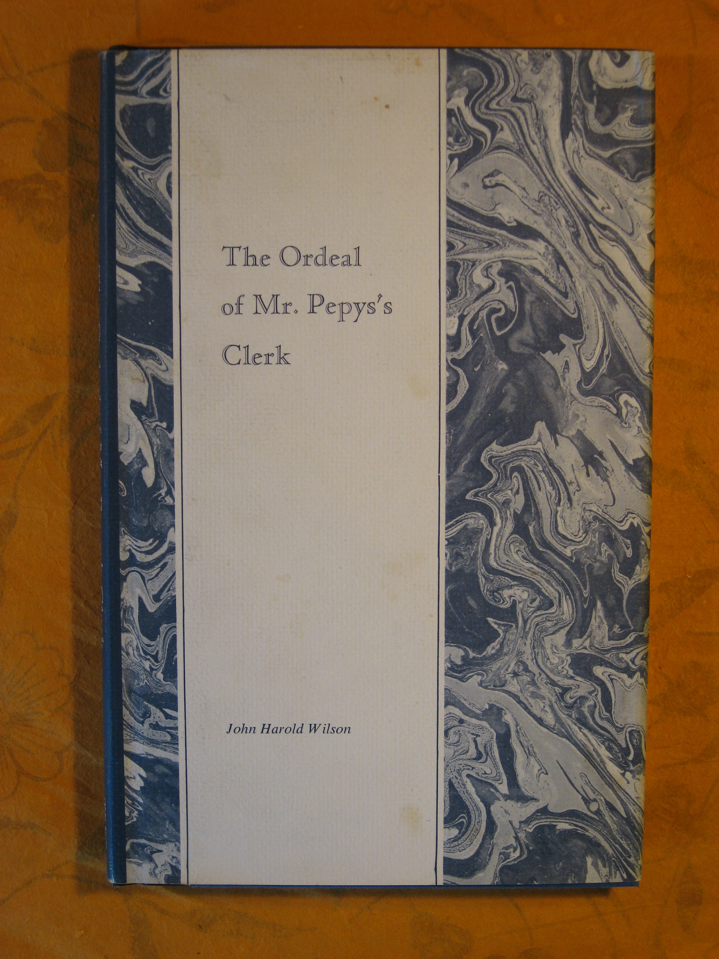 Image for Ordeal of Mr Pepys's Clerk