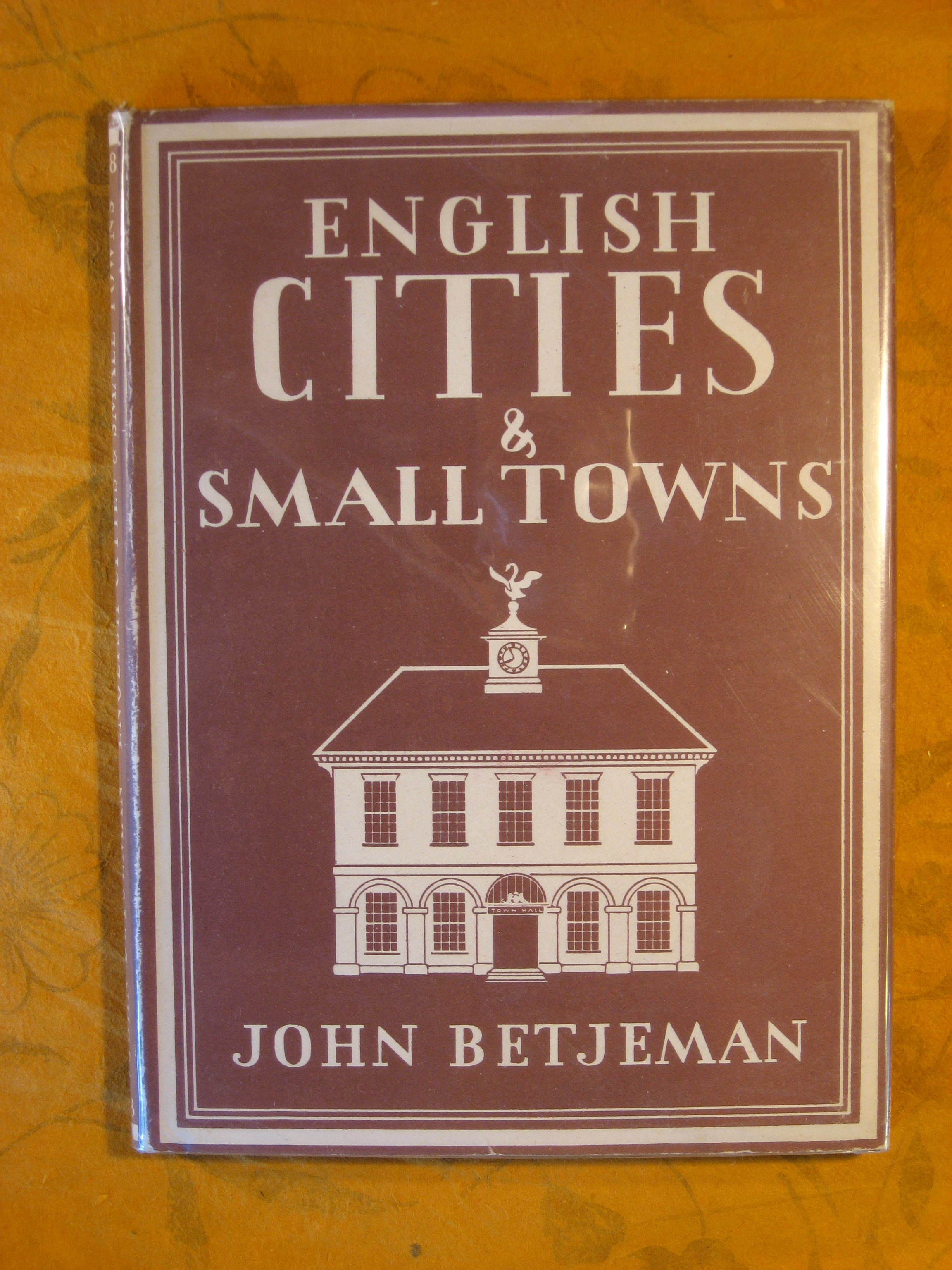 Image for English Cities and Small Towns (Britian in Pictures series)