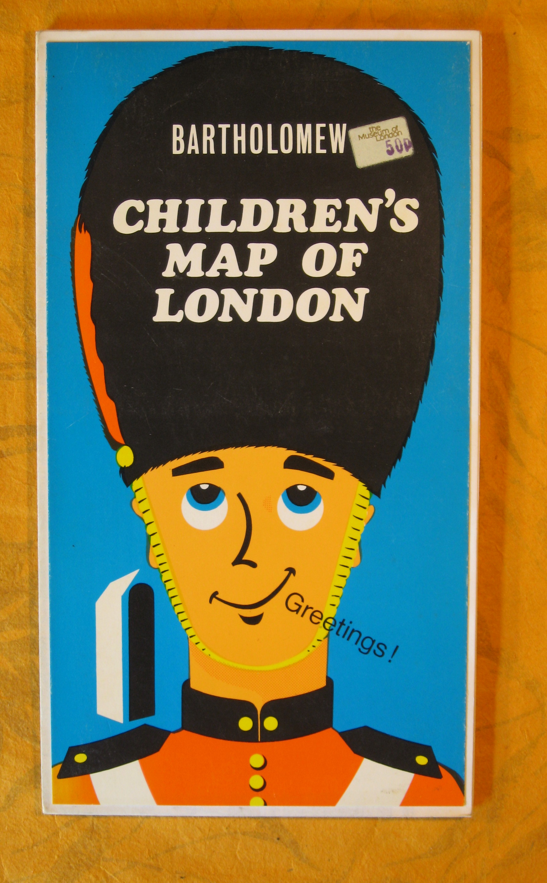 Image for Children's Map of London