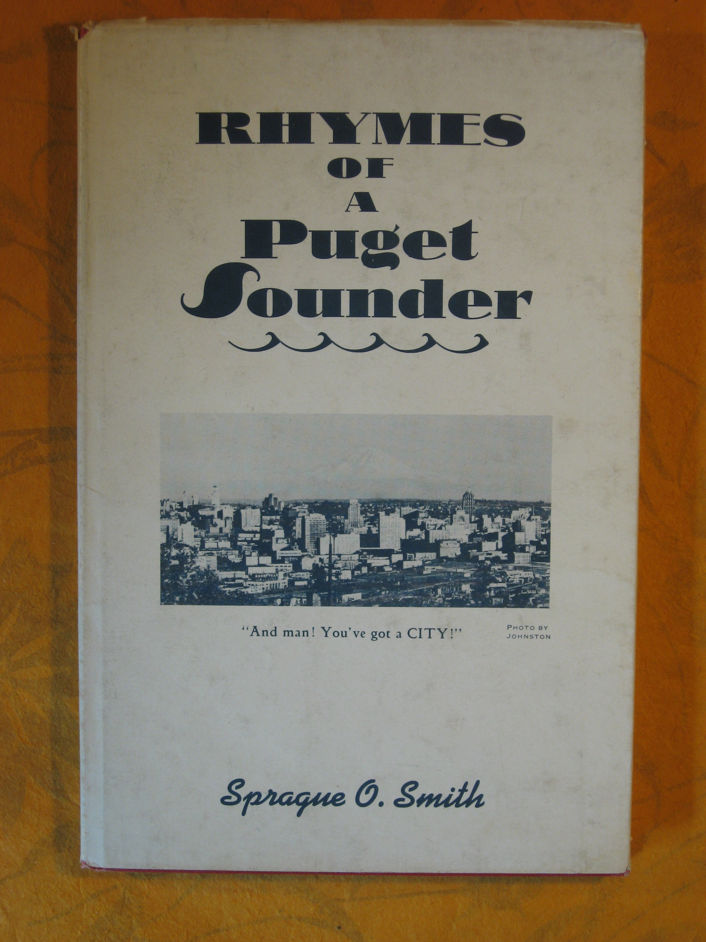 Image for Rhymes of a Puget Sounder