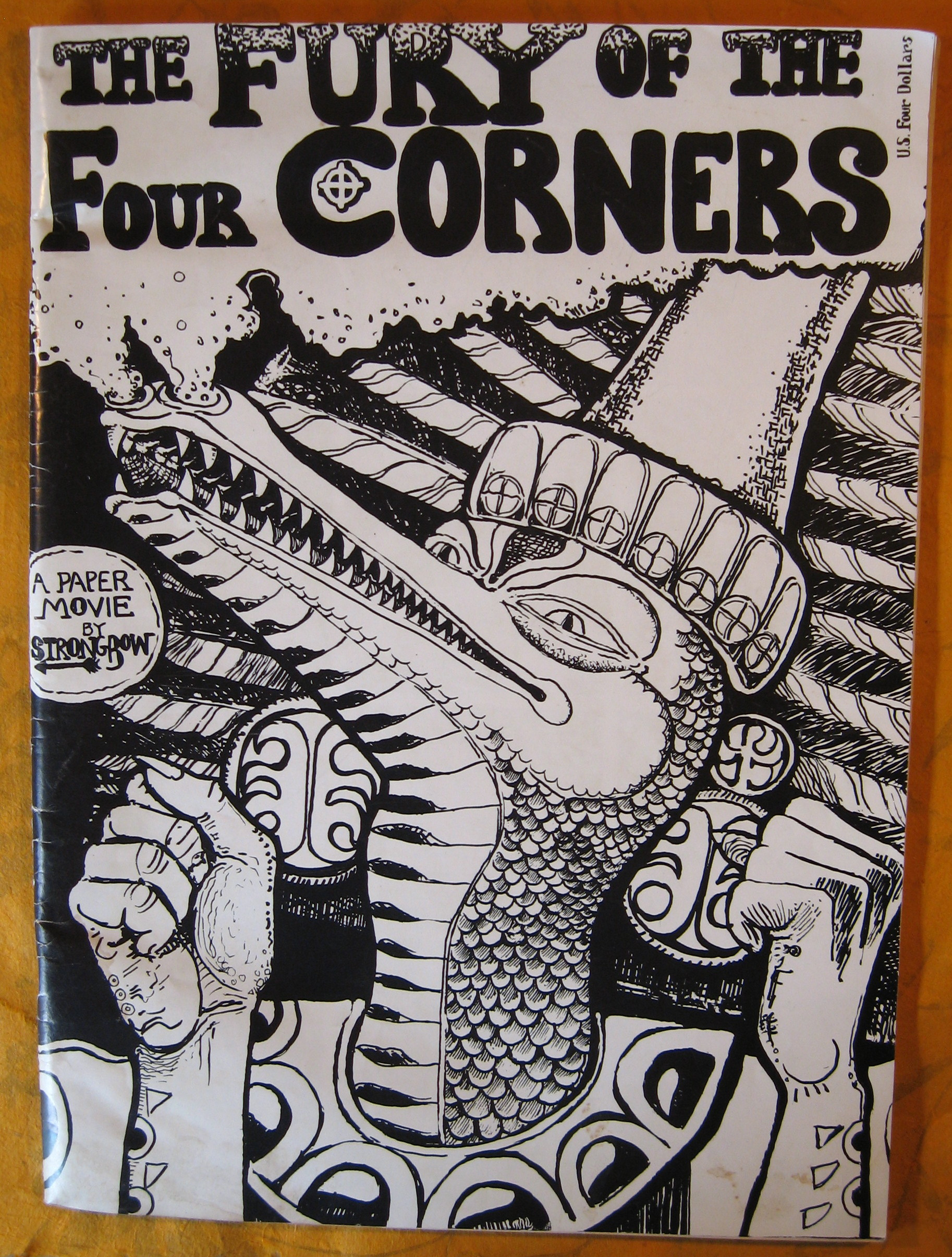 Image for The Fury of the Four Corners:  A Paper Movie