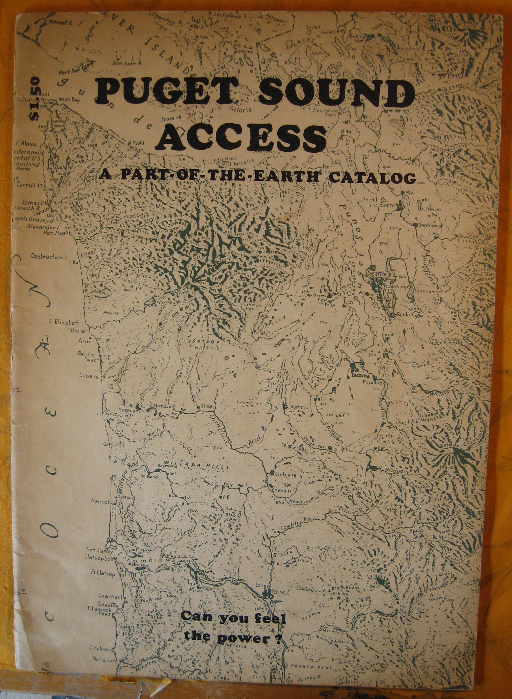 Image for Puget Sound Access:  A Part-of-the-Earth Catalog