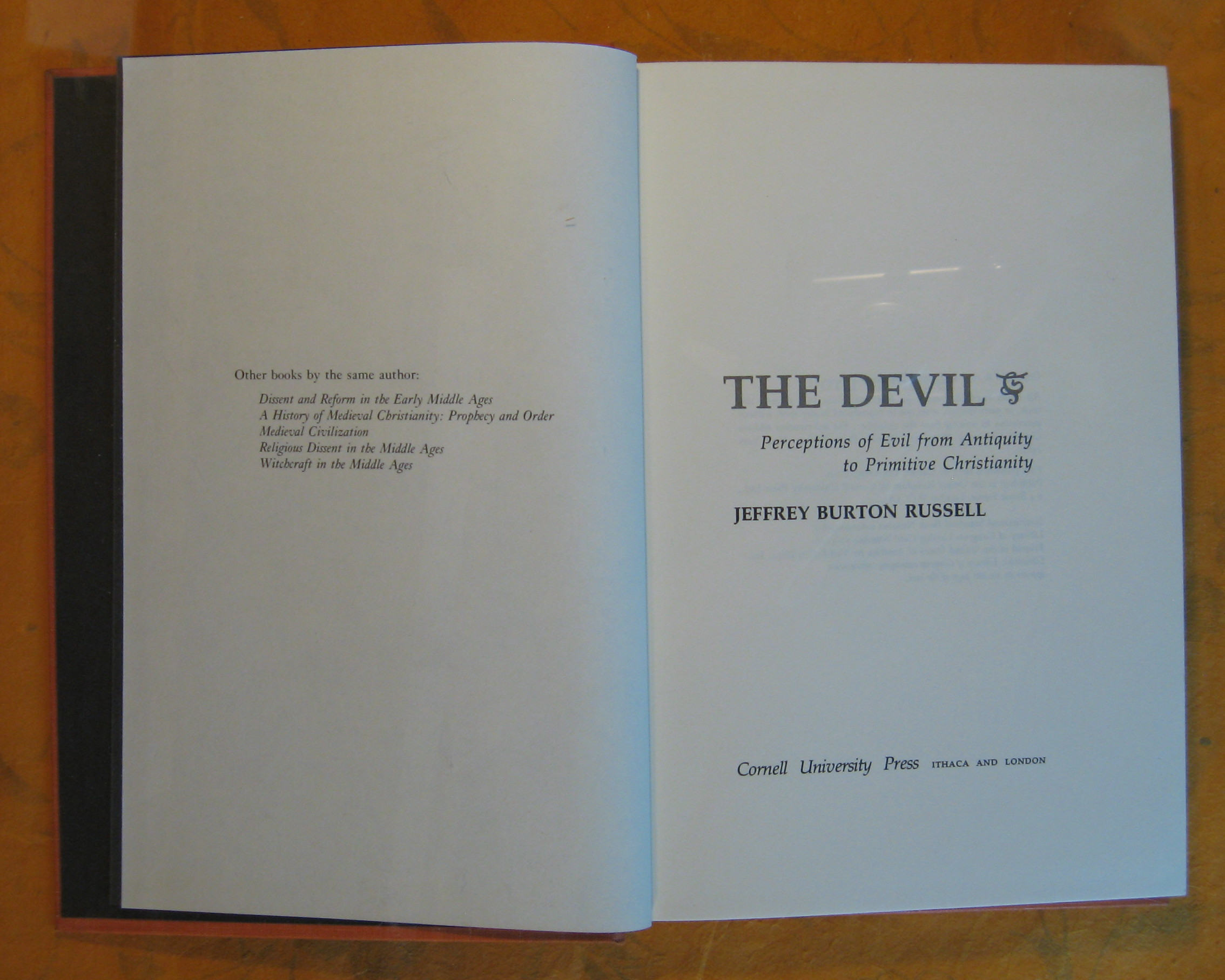 Image for The Devil: Perceptions of Evil from Antiquity to Primitive Christianity