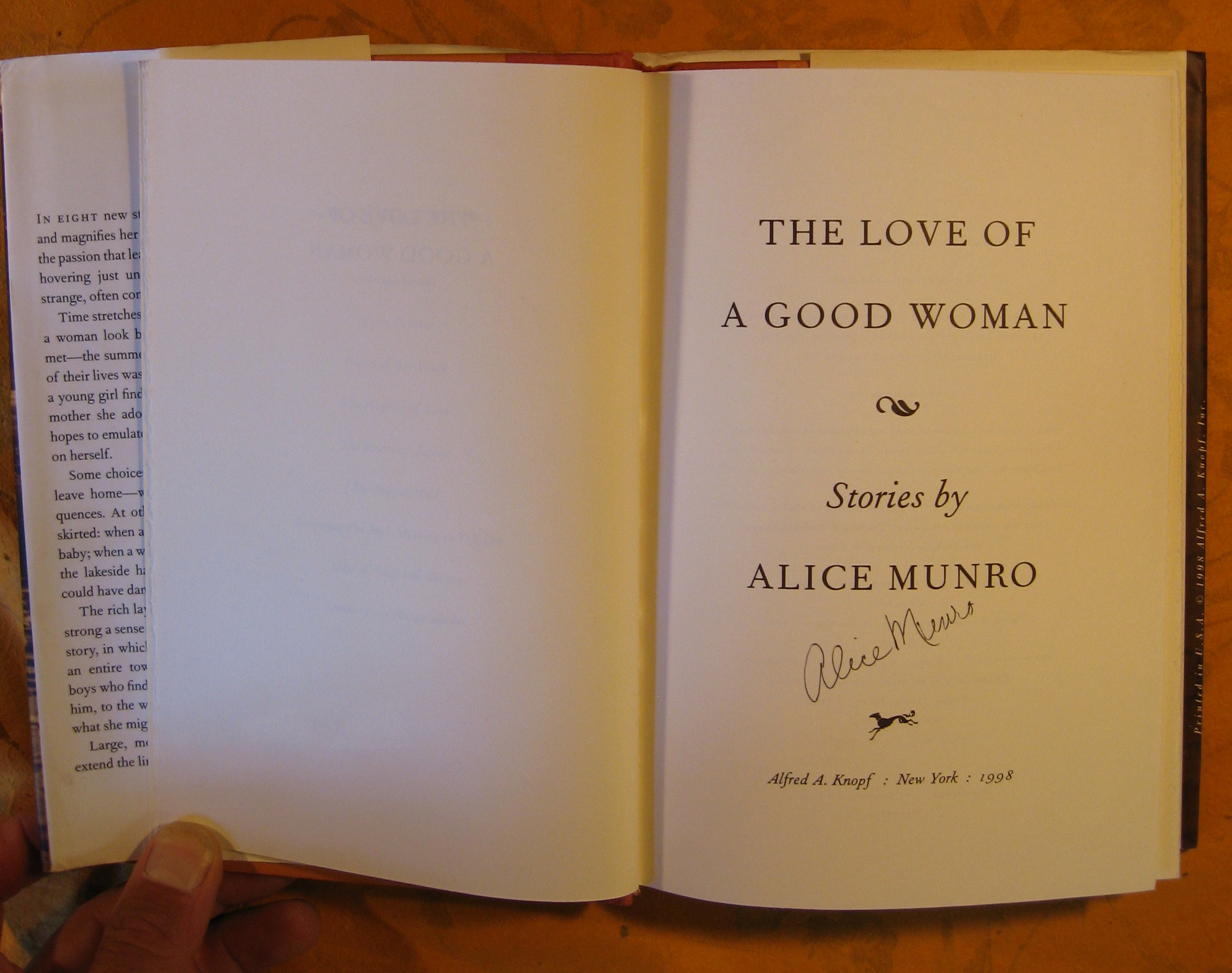 Image for The Love of a Good Woman: Stories