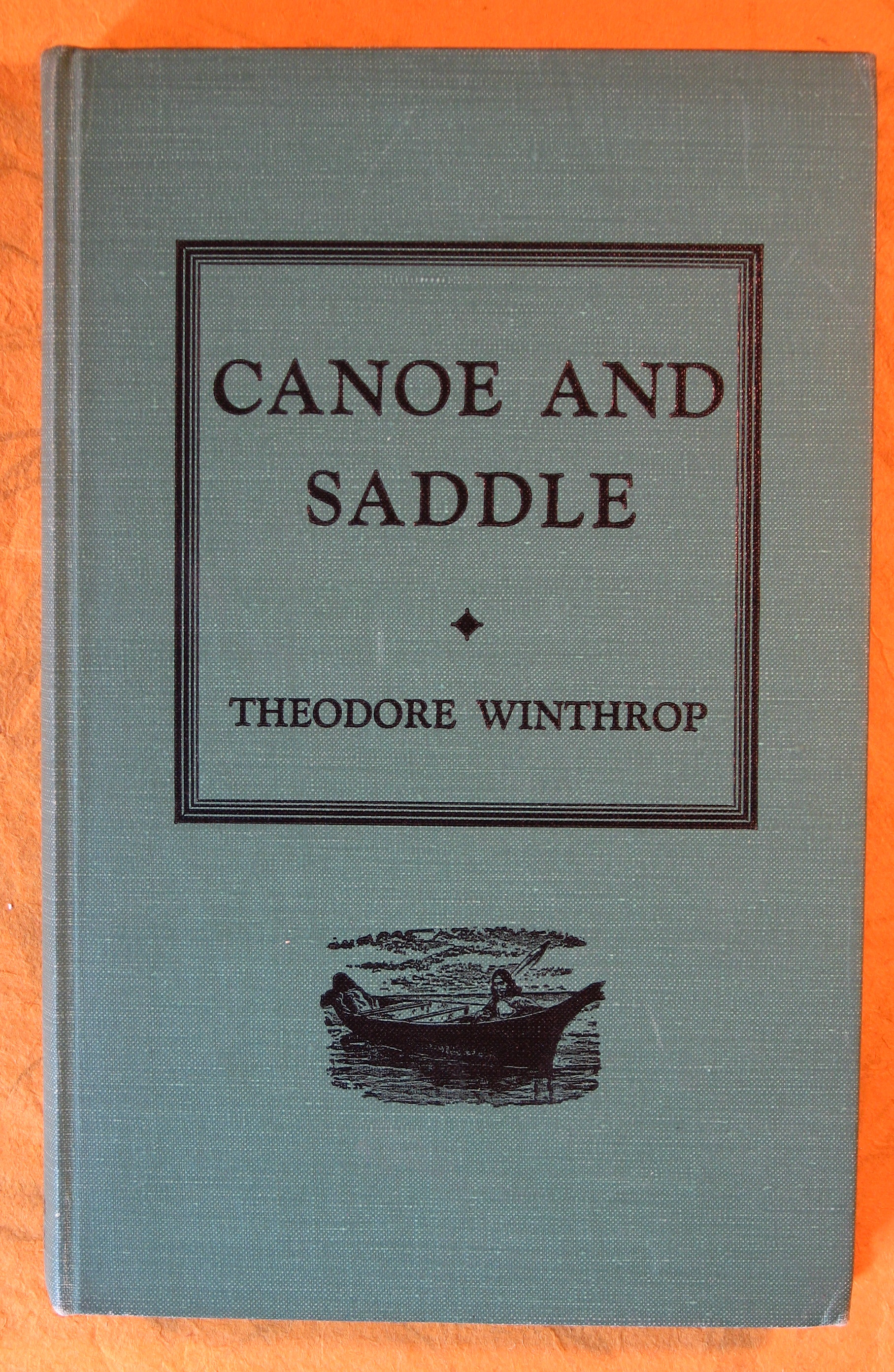 Image for Canoe and Saddle
