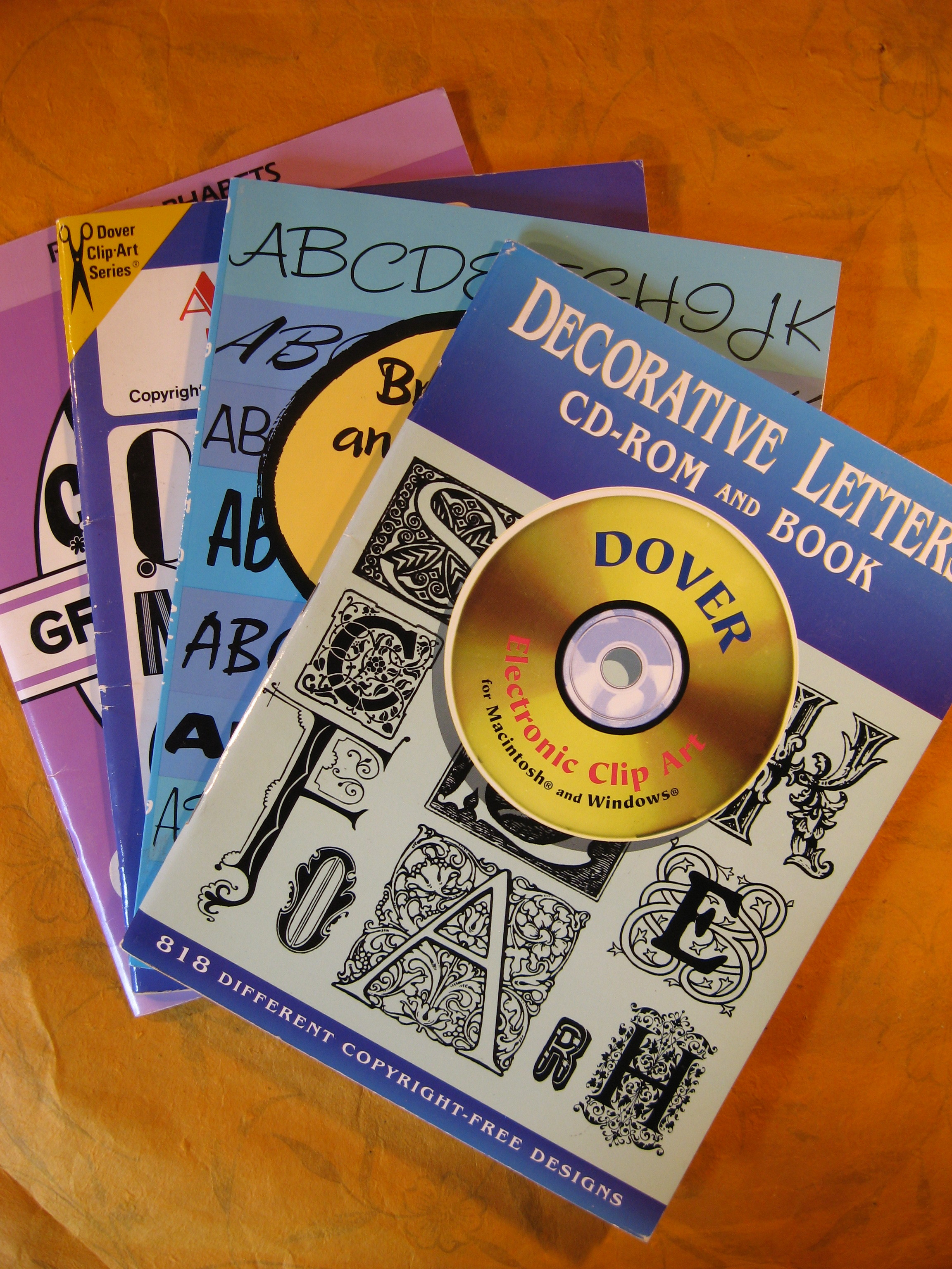 Image for Clip-Art Book Collection - Four Books on Alphabets
