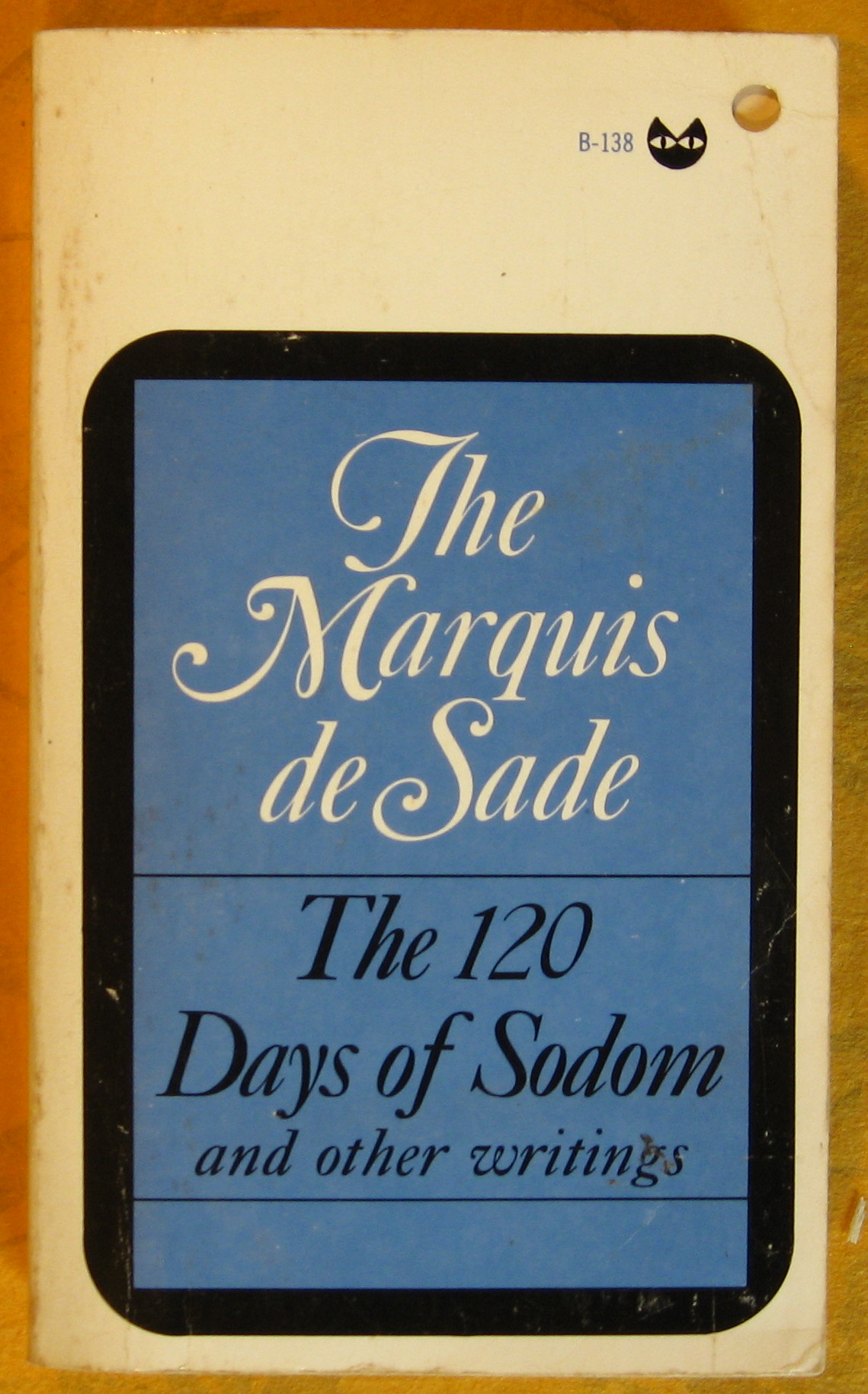Image for The 120 Days of Sodom and Other Writings
