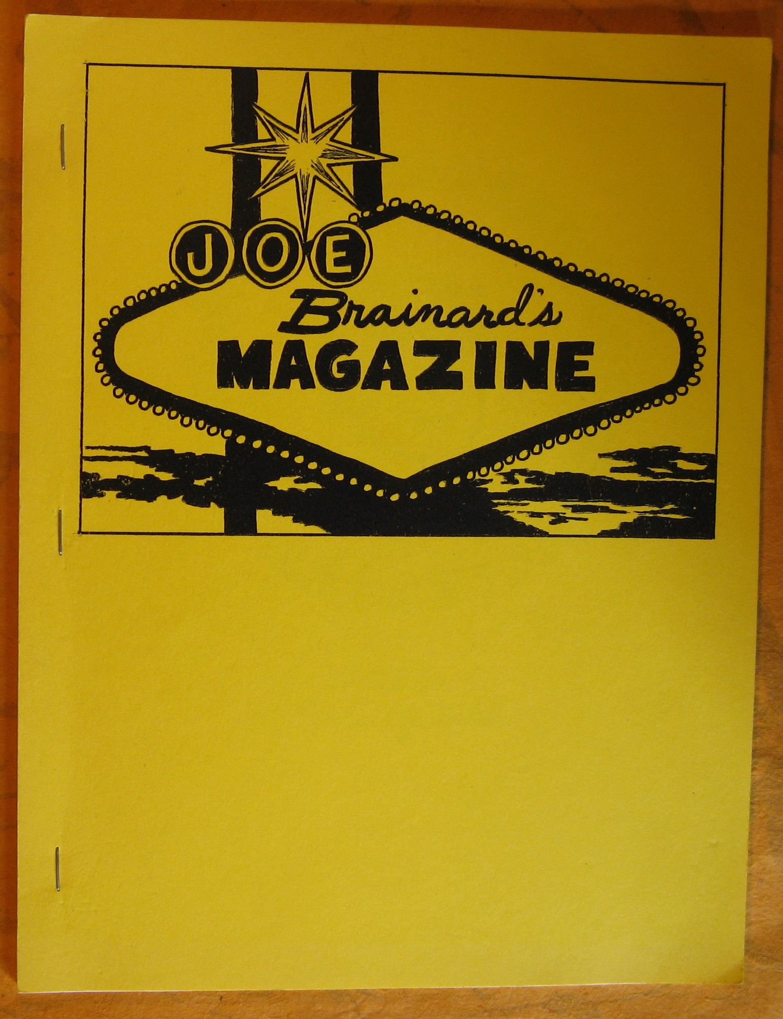 Image for Joe Brainard's Magazine
